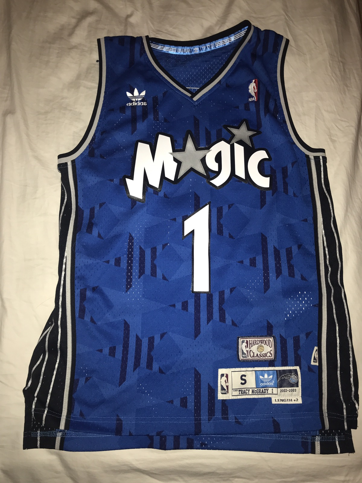 Adidas × Nba. Orlando Magic Tracy McGrady 02-03 NBA Jersey. Size  US S ... 8274fb610
