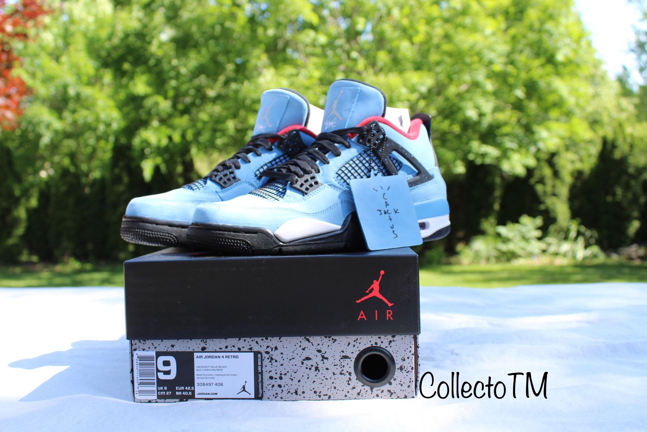 meilleures baskets 2608b fe8d2 Air Jordan Retro 4 X Cactus Jack