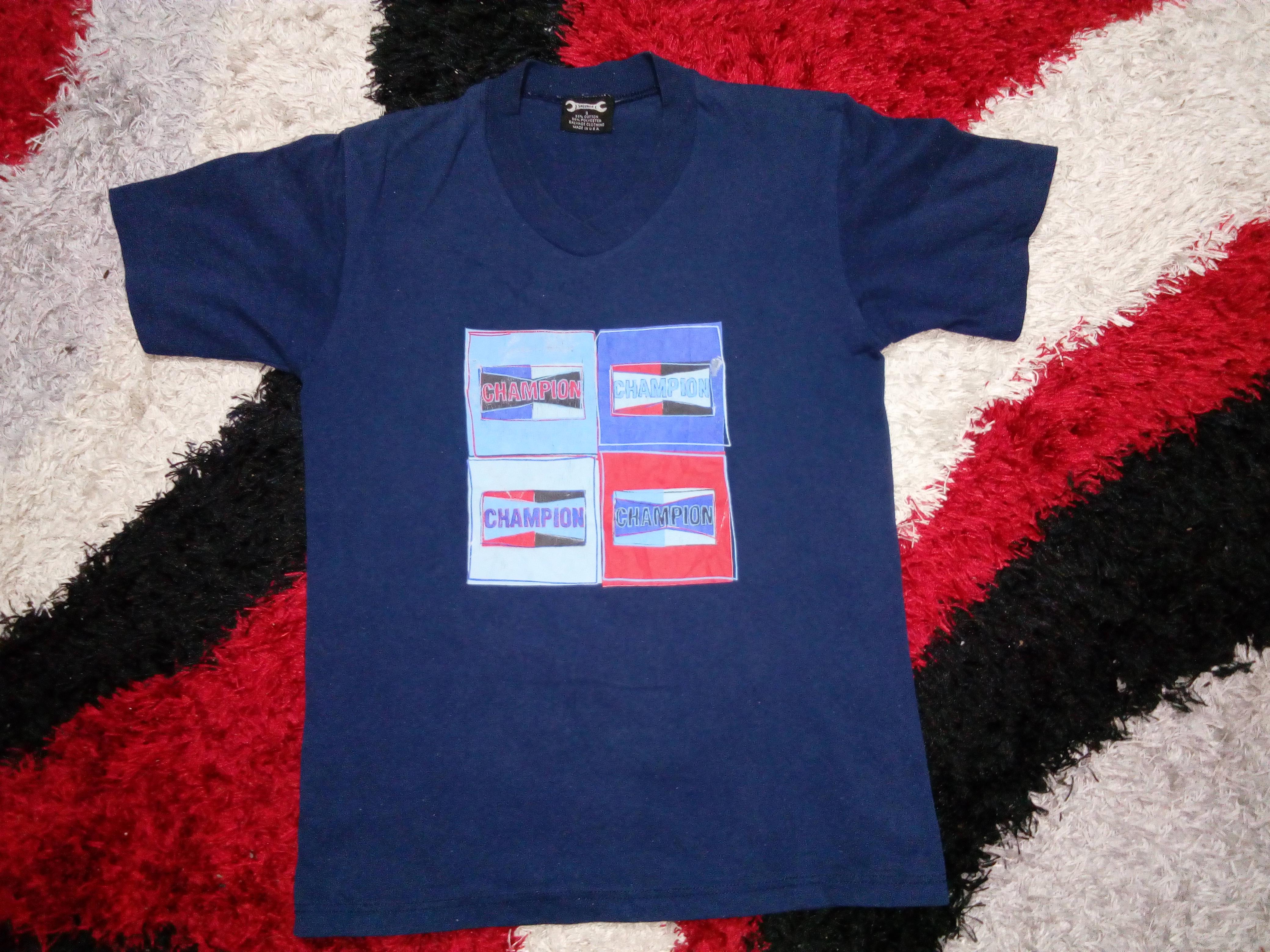 2e49d1b2dbe9 Vintage ×. RARE!!! Vintage 90 s Champion Spark Plug T-Shirt ...