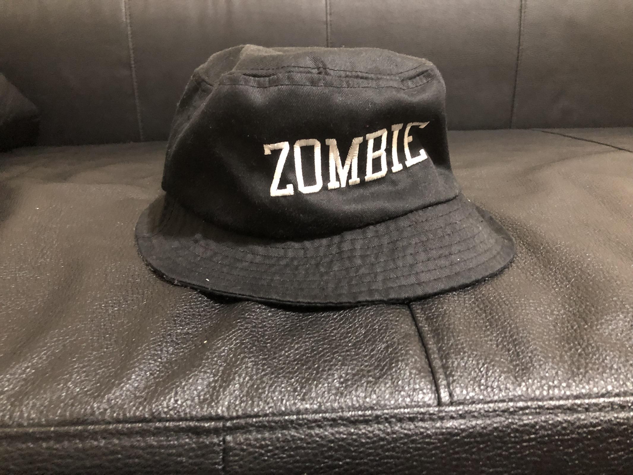 d46208d8823b8 Stussy Black Zombie Bucket Hat