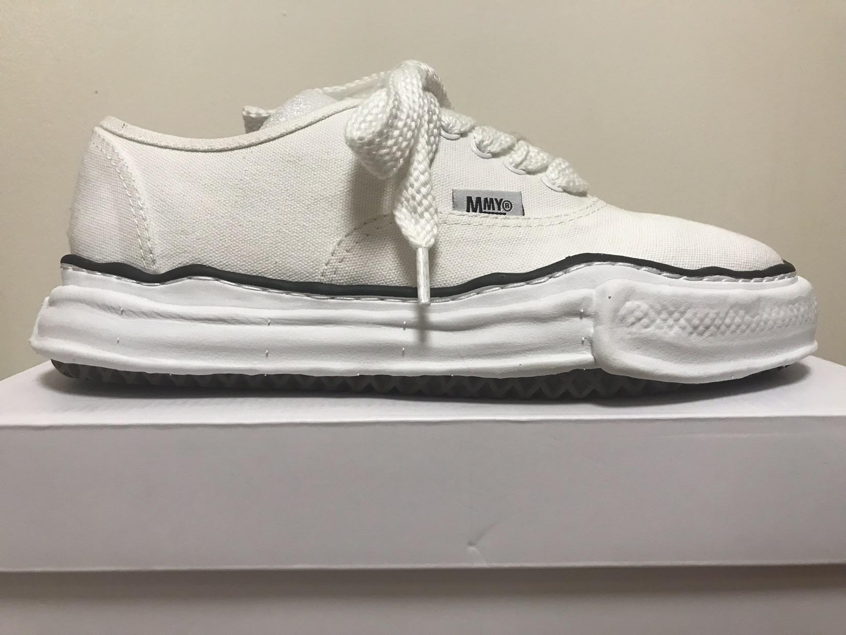 "1d6eb645f70f Miharayasuhiro Maison Mihara Yasuhiro Original Sole ""vans"" in White Size 10  - Low-Top Sneakers for Sale - Grailed"