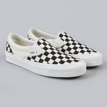 8a9ee2af31f3f2 Vans Vault Checkerboard Slip on LX Size 7 - Slip Ons for Sale - Grailed