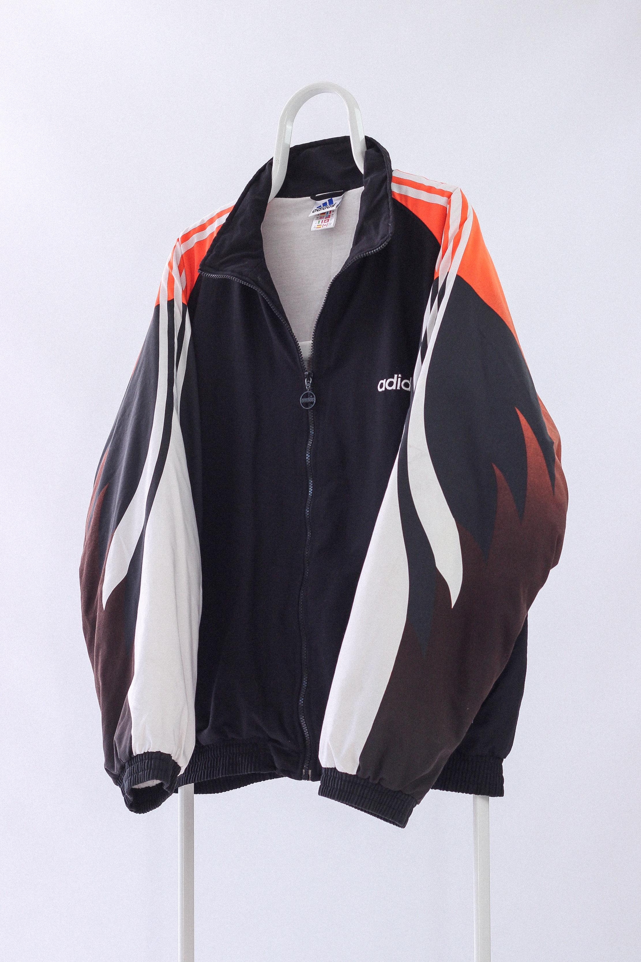 69d7048b305 Adidas × Vintage. Vintage Mens ADIDAS Team Soccer Training Winter Jacket  FIRE