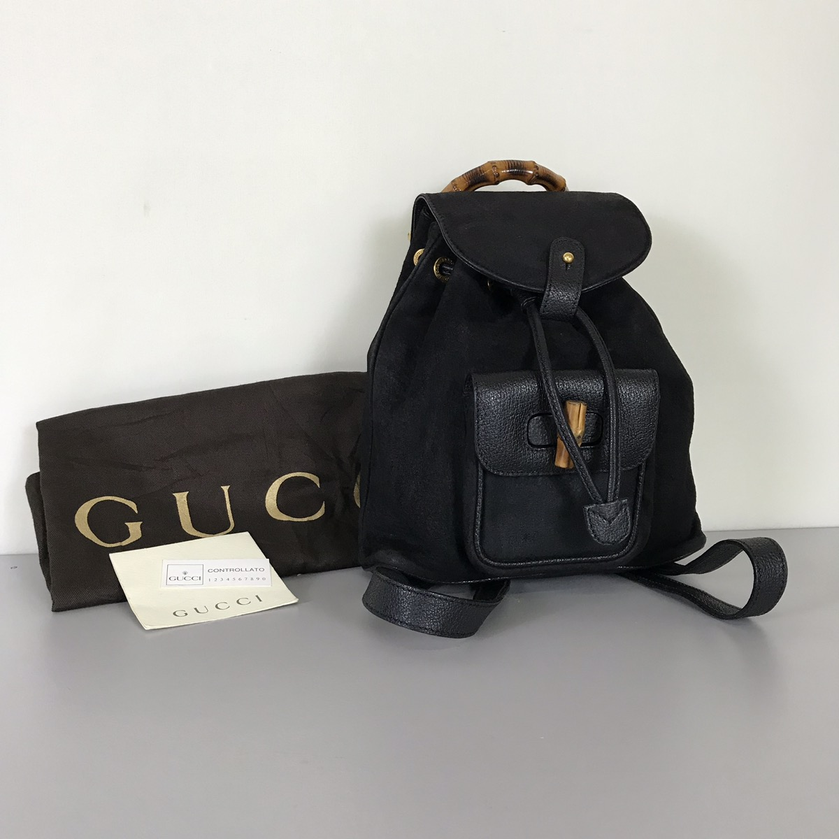 15c4ff561152 Vintage Gucci Bamboo Backpack - Restaurant Grotto Ticino, Pizzeria ...
