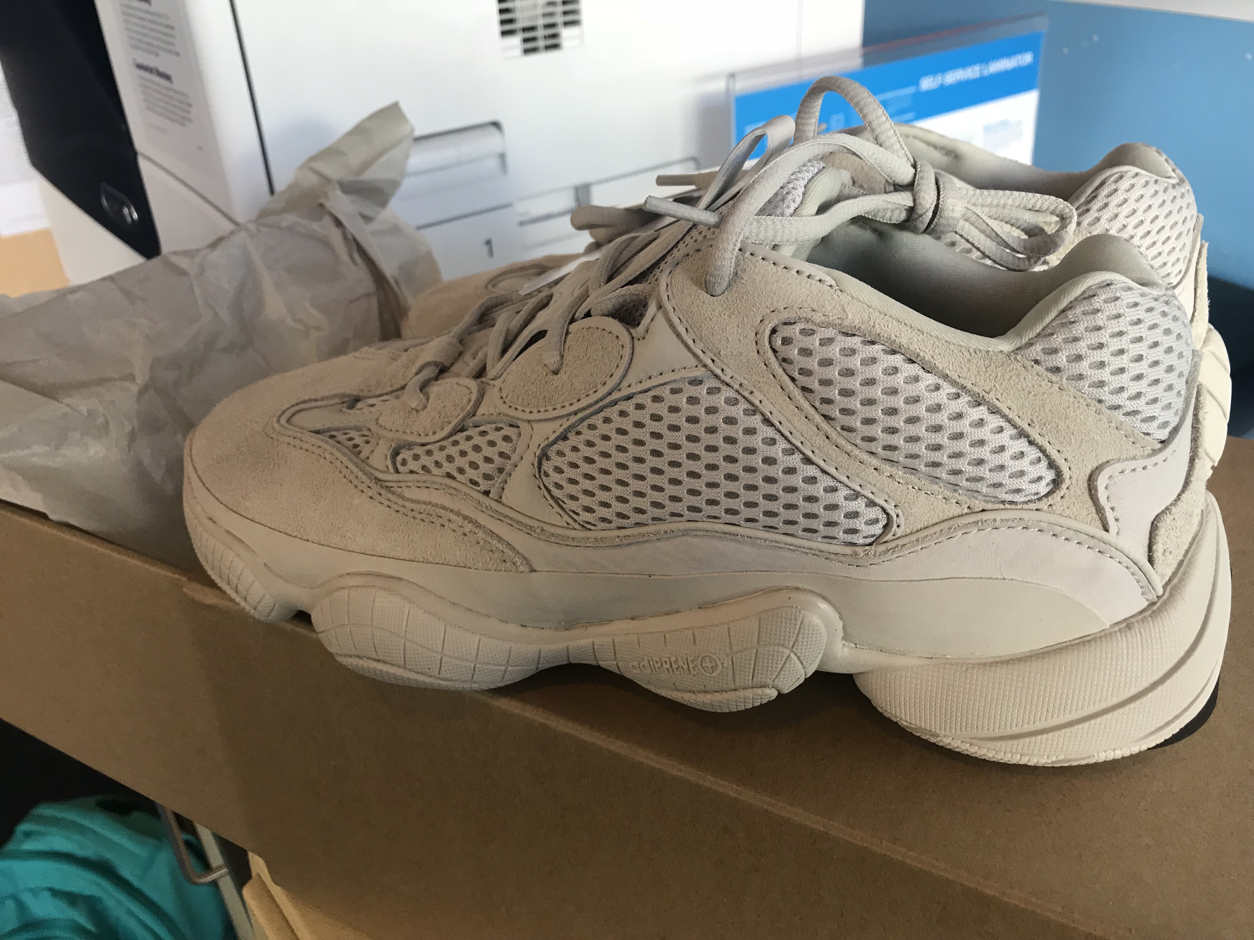 newest collection e8ec2 b1e59 Adidas Yeezy 500 Blush Size US 9 CONFIRMED ORDER WAVE RUNNER YEEZY SUPPLY