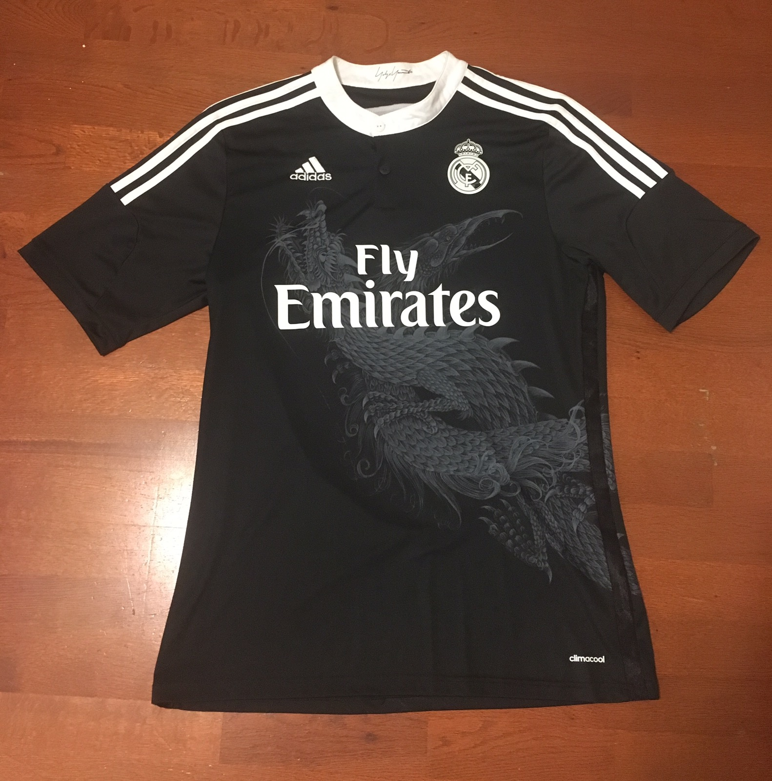 reputable site a2823 de178 Yohji Yamamoto X Real Madrid Dragon Jersey Y3 Y's