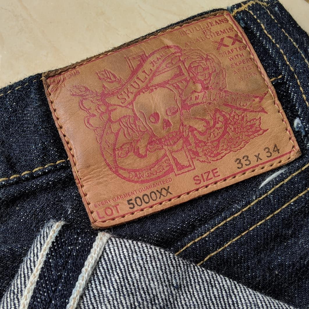 Skull Jeans 5000xx