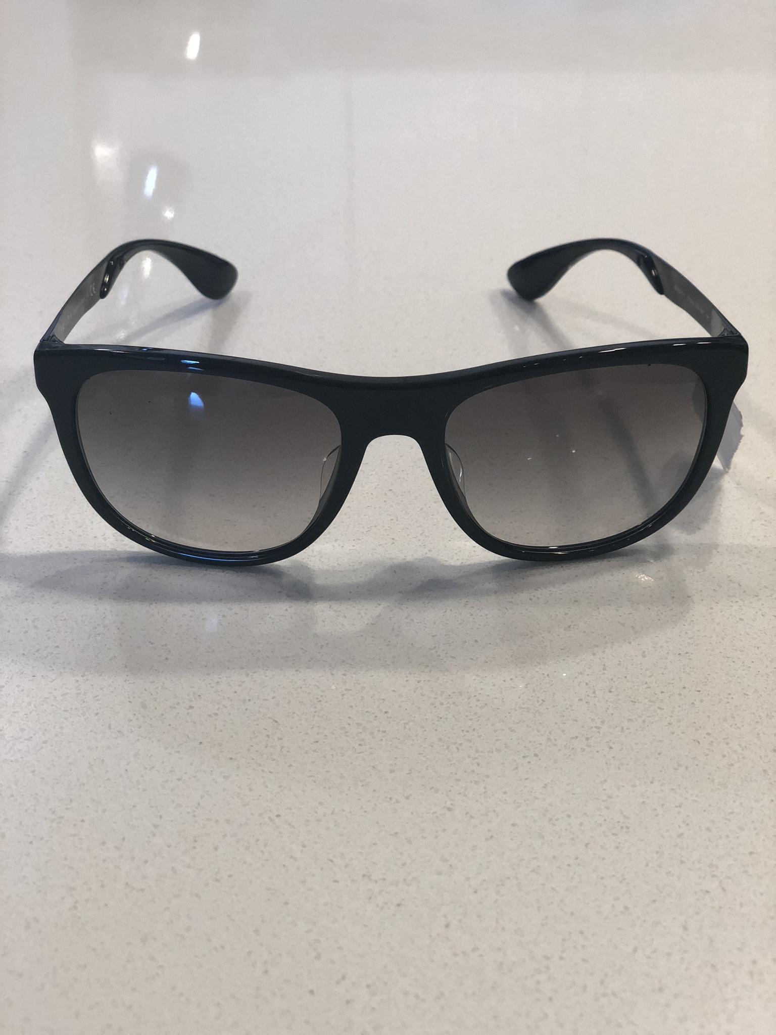 ed042bb613c1 Prada Prada Sunglasses Black Gray Gradient Spr04s-f 1ab-0a7 57-19 ...
