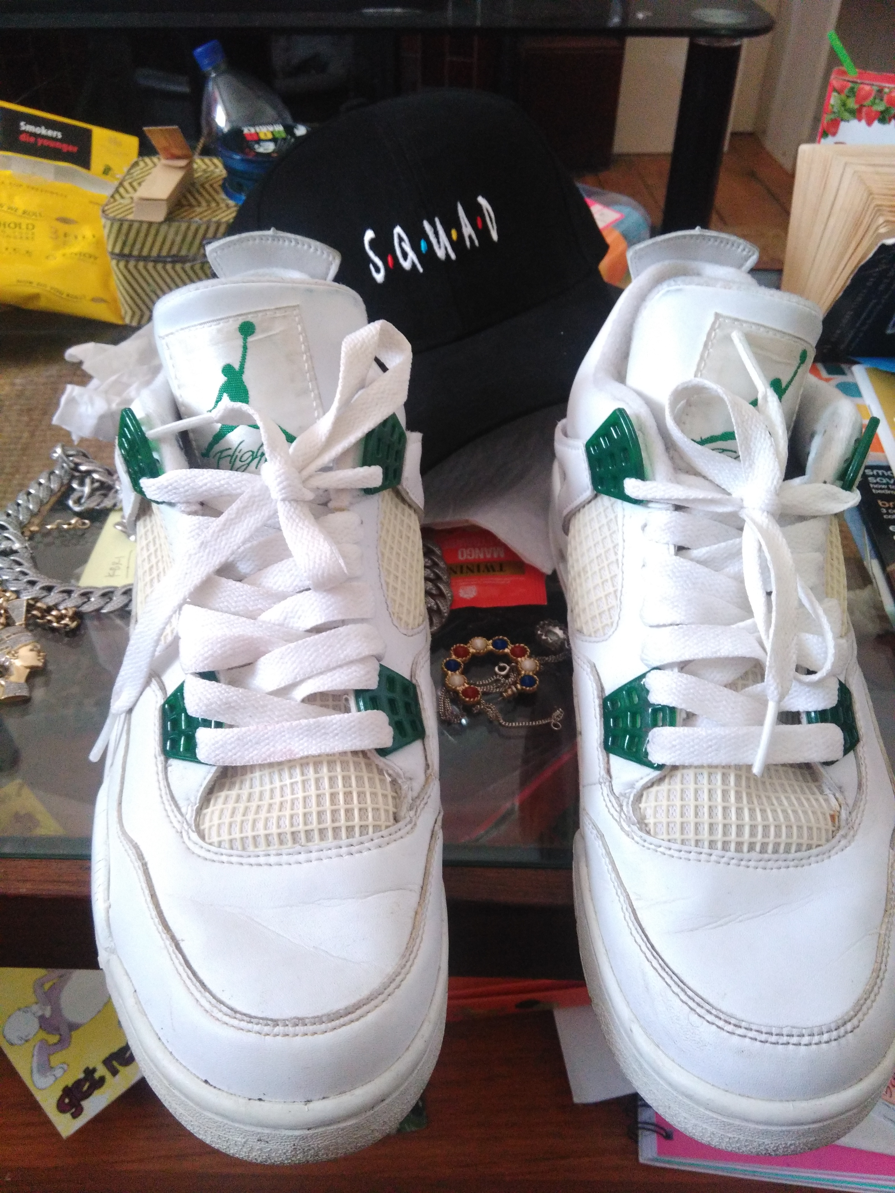 b8103b00c652a3 Jordan Brand ×. Nike Air Jordan 4 IV Retro Classic Forest Green