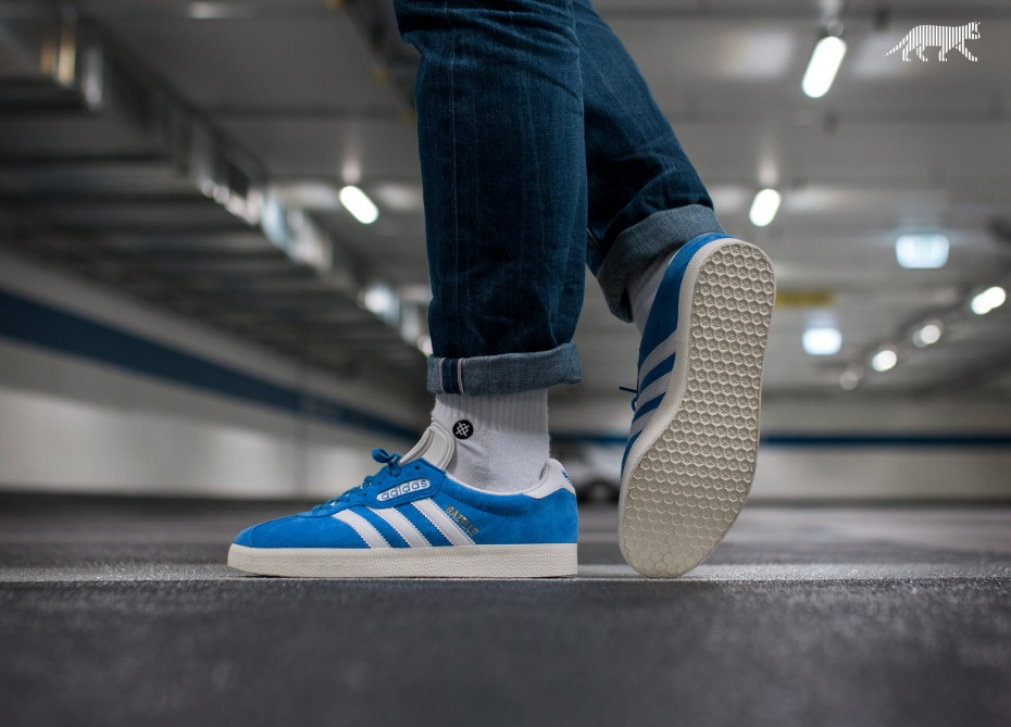 Adidas Adidas Gazelle Super - Blue/Vintage White