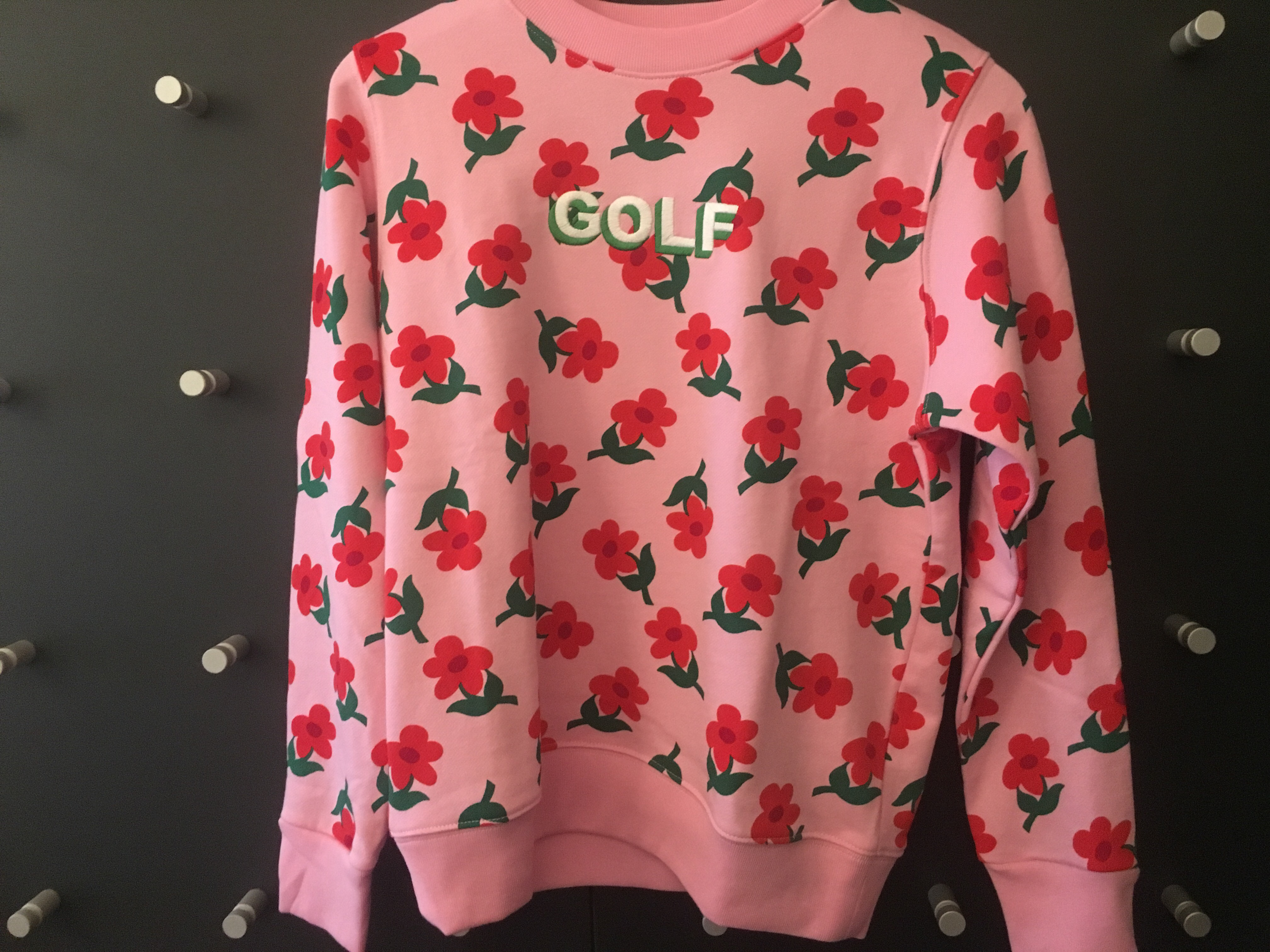 f69d51e418cf Golf Wang × Tyler The Creator. Find Some Time crewneck ...
