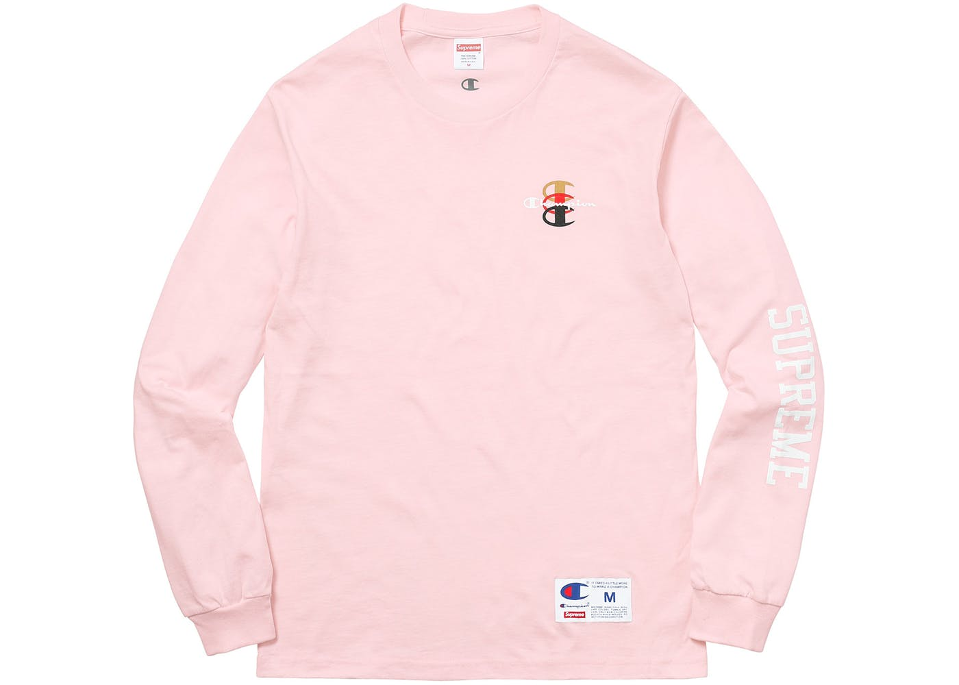 18c65fba47be Supreme Supreme Champion Stacked C Long Sleeve Tee Size xl - Long Sleeve  T-Shirts for Sale - Grailed
