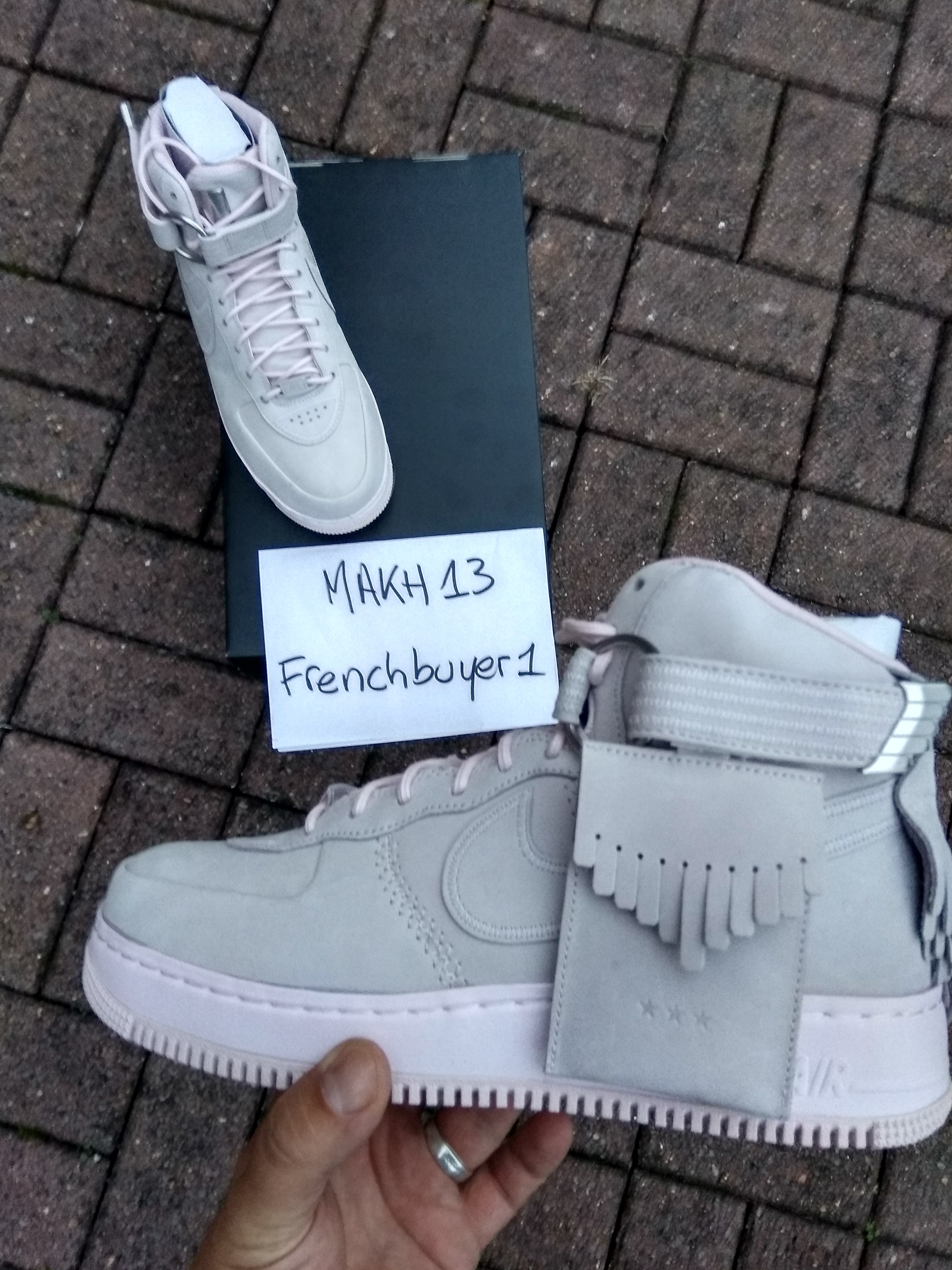 Nike air force 1 High SL lux Easter pack 919473 600 DS sz.9.5US