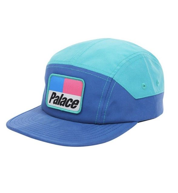 Palace 5 Panel Teal Blue Shell Hat - F W 2017 Size one size - Hats for Sale  - Grailed e3a81b9d54a