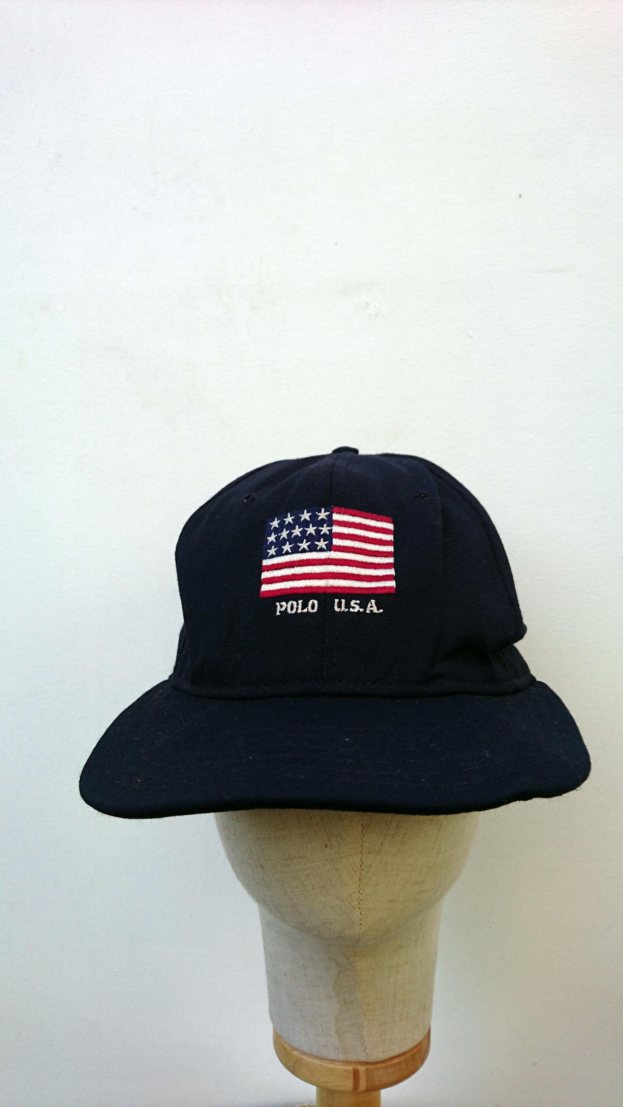 Vtg Polo Ralph Lauren Made in Usa America Flag Hip Hop Rap