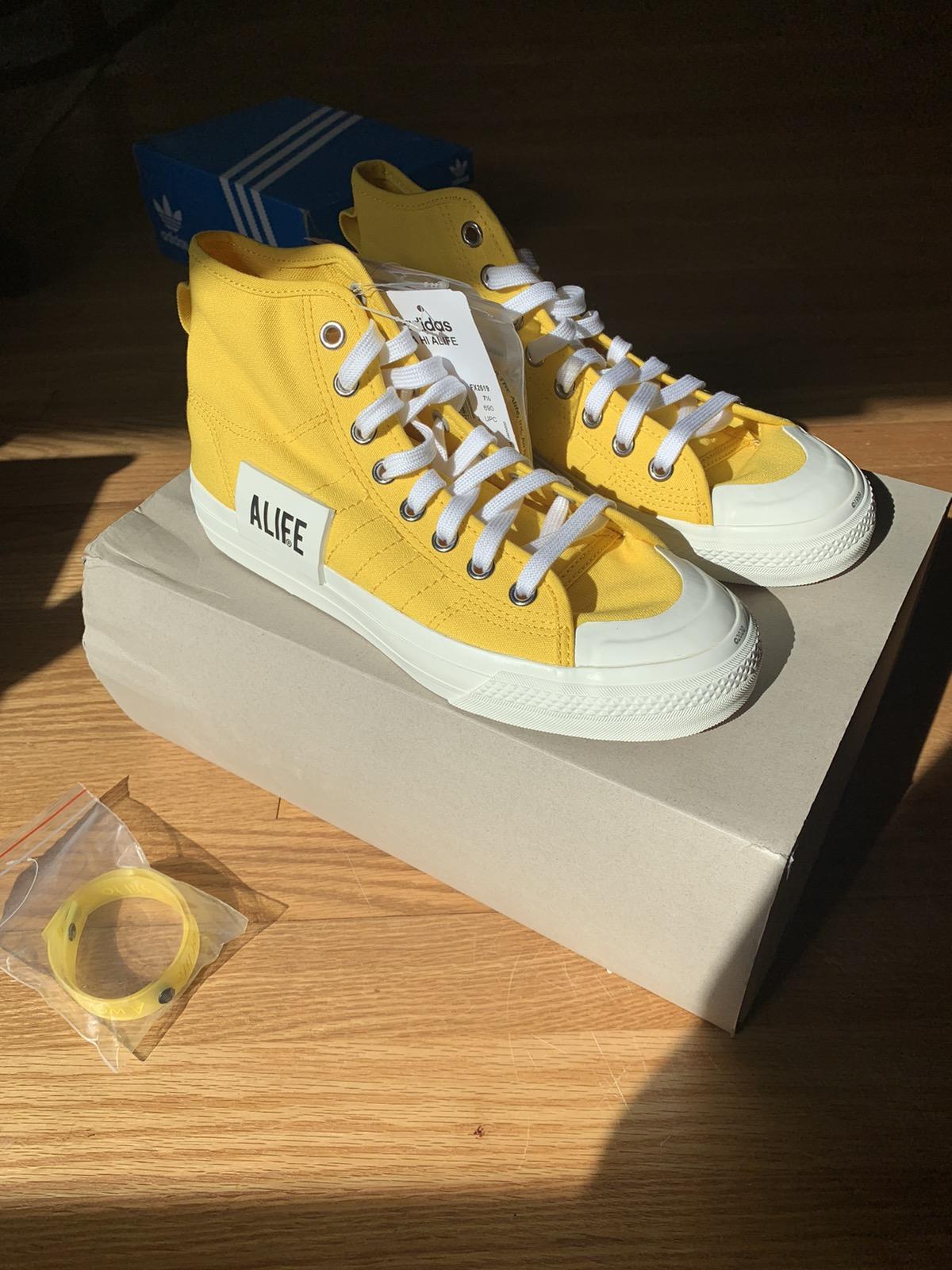 Adidas Adidas x ALife Nizza Hi yellow