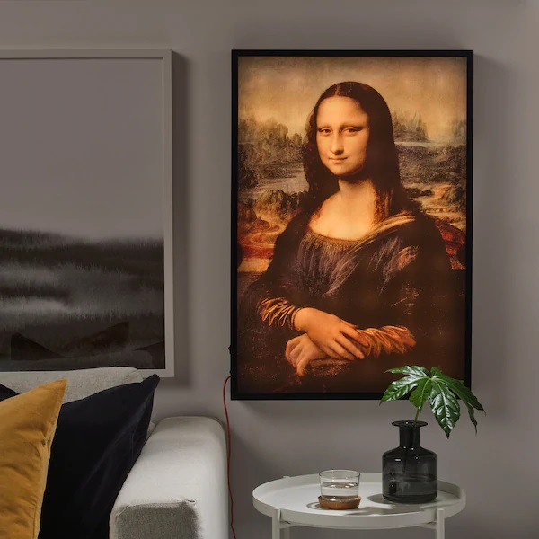 Men S Mona Lisa From Ikea Virgil Abloh Grailed