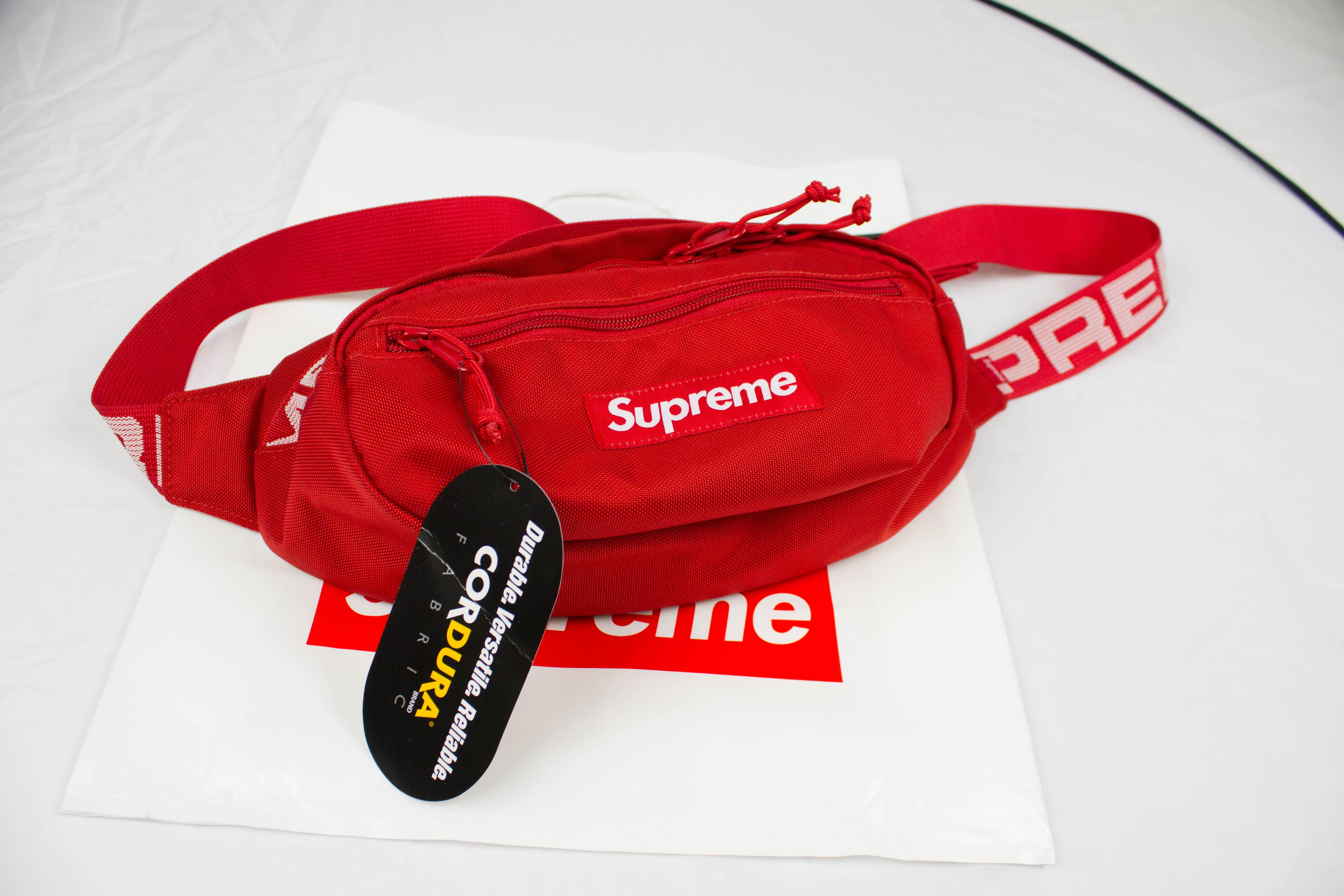 Supreme Red Waist Bag Ss18 | Grailed