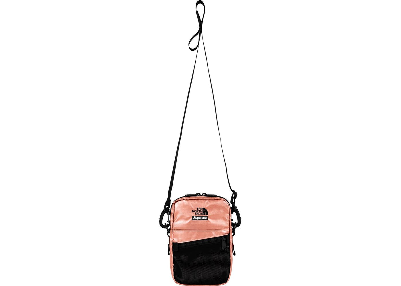 fdae1b17c Supreme The North Face Metallic Shoulder Bag (Rose Gold)