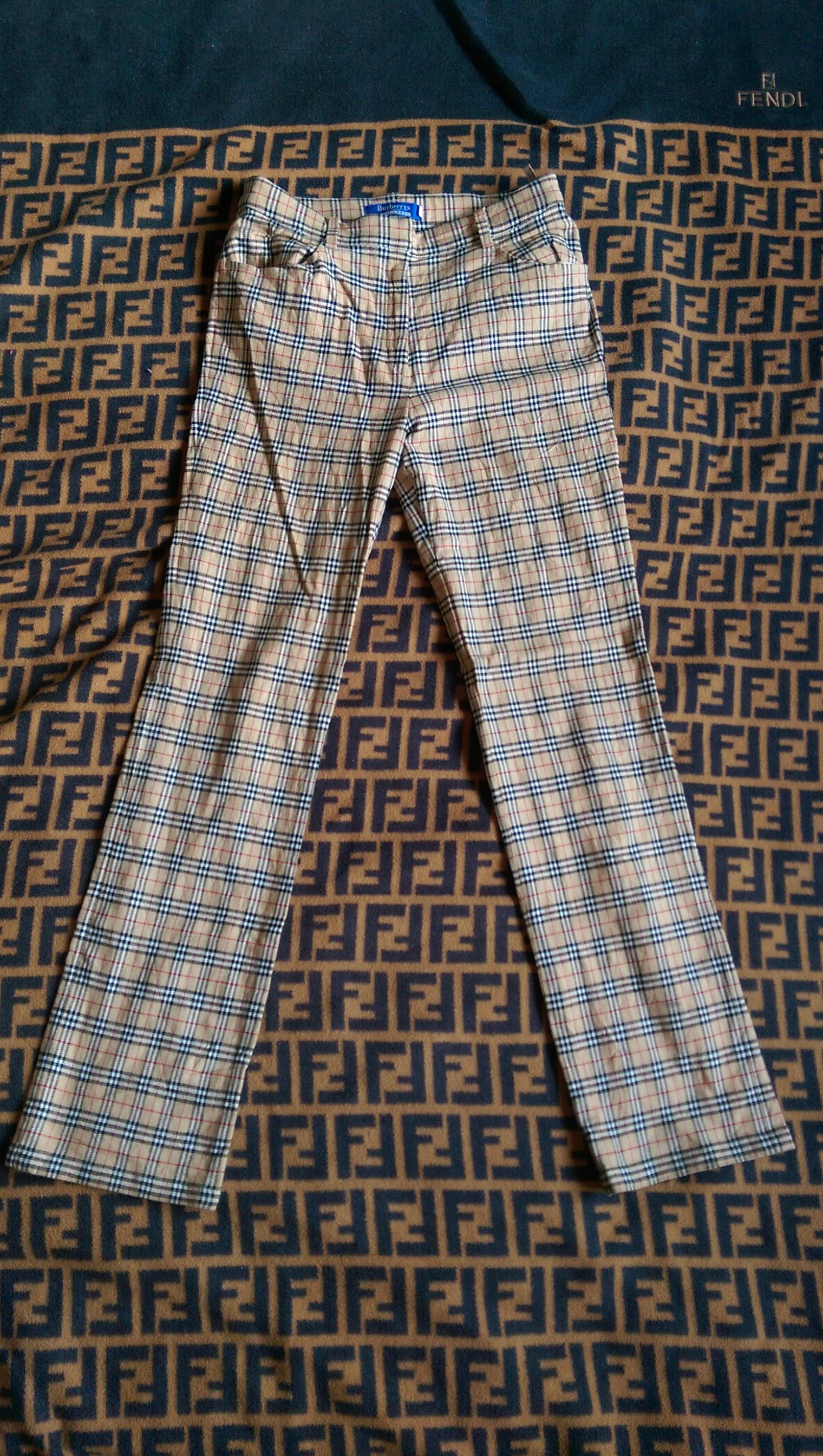 77e7644a76 Burberry Burberry Blue Label Nova Check Pants Size 28 - Casual Pants ...