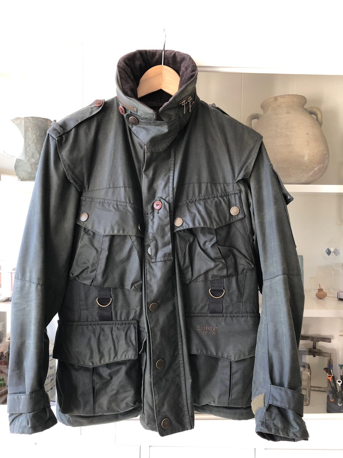 barbour dept b jacket