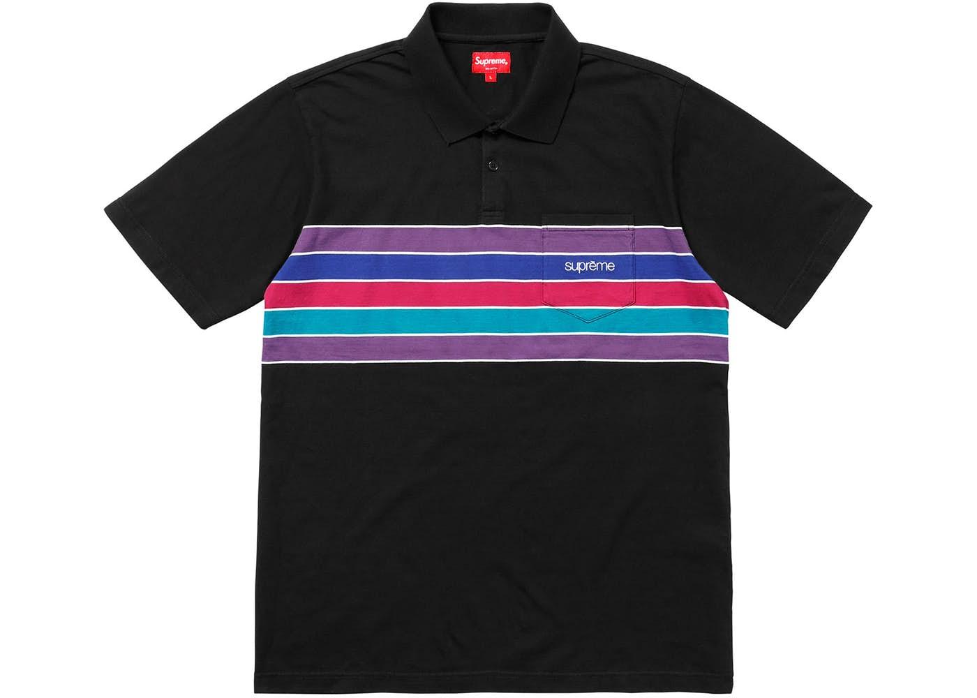 28b4fb91 Supreme Chest Stripe Polo | Grailed