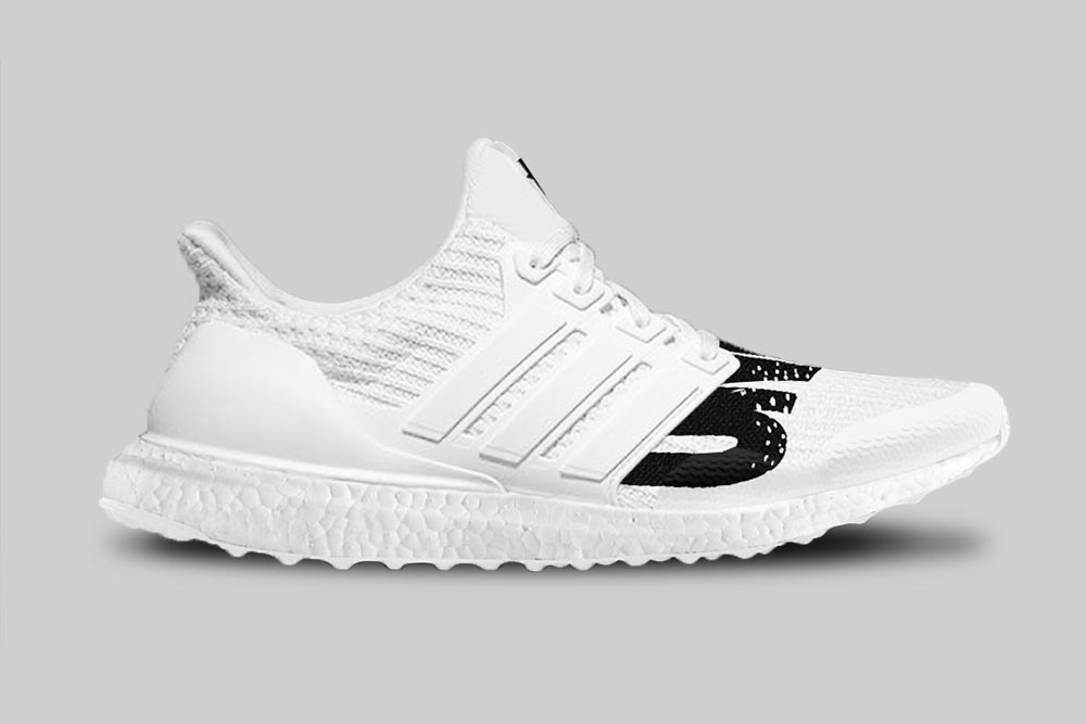 best cheap a9840 b7806 Adidas x Undefeated Ultraboost - White / White