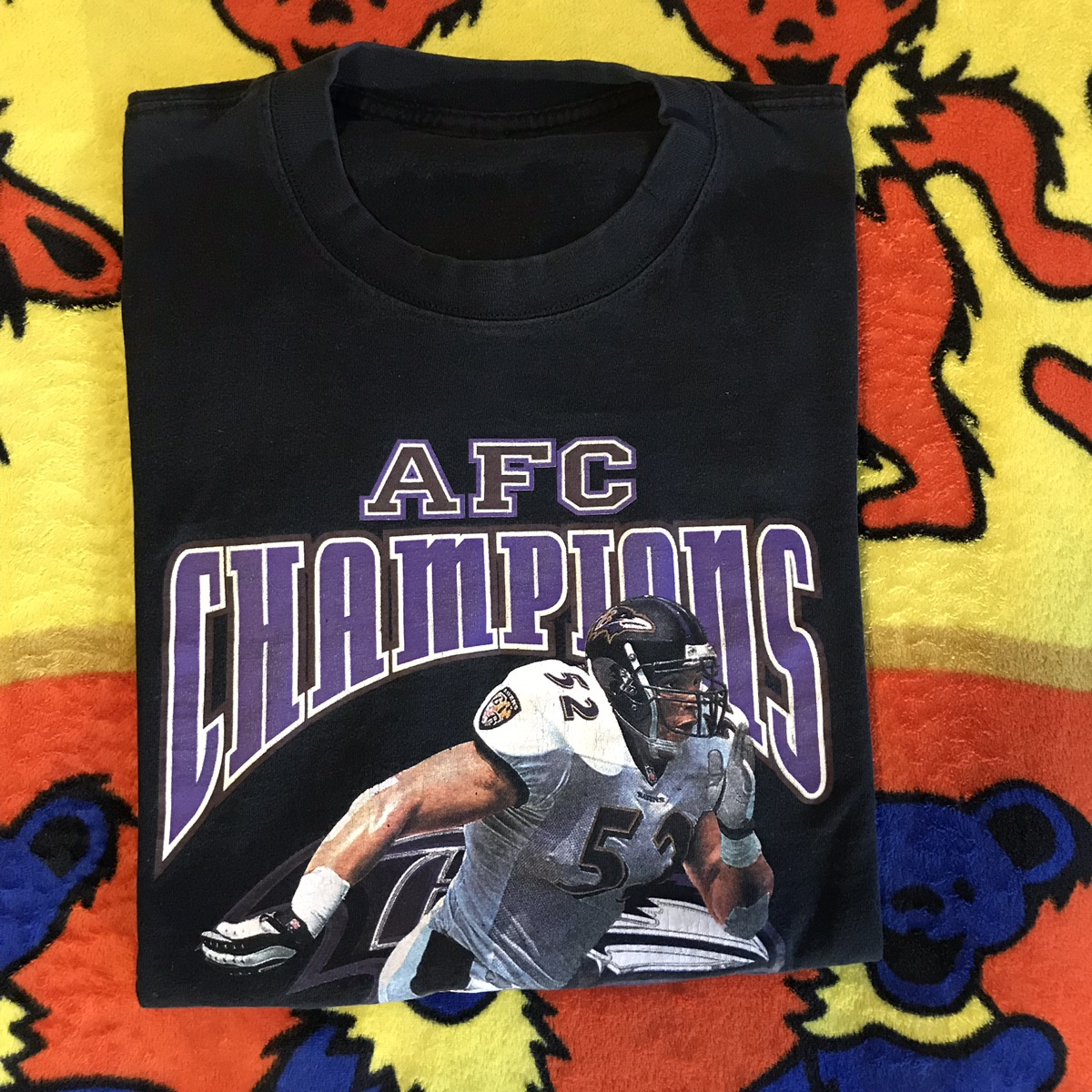 Baltimore Ravens AFC Year of Establishment T-Shirt XL