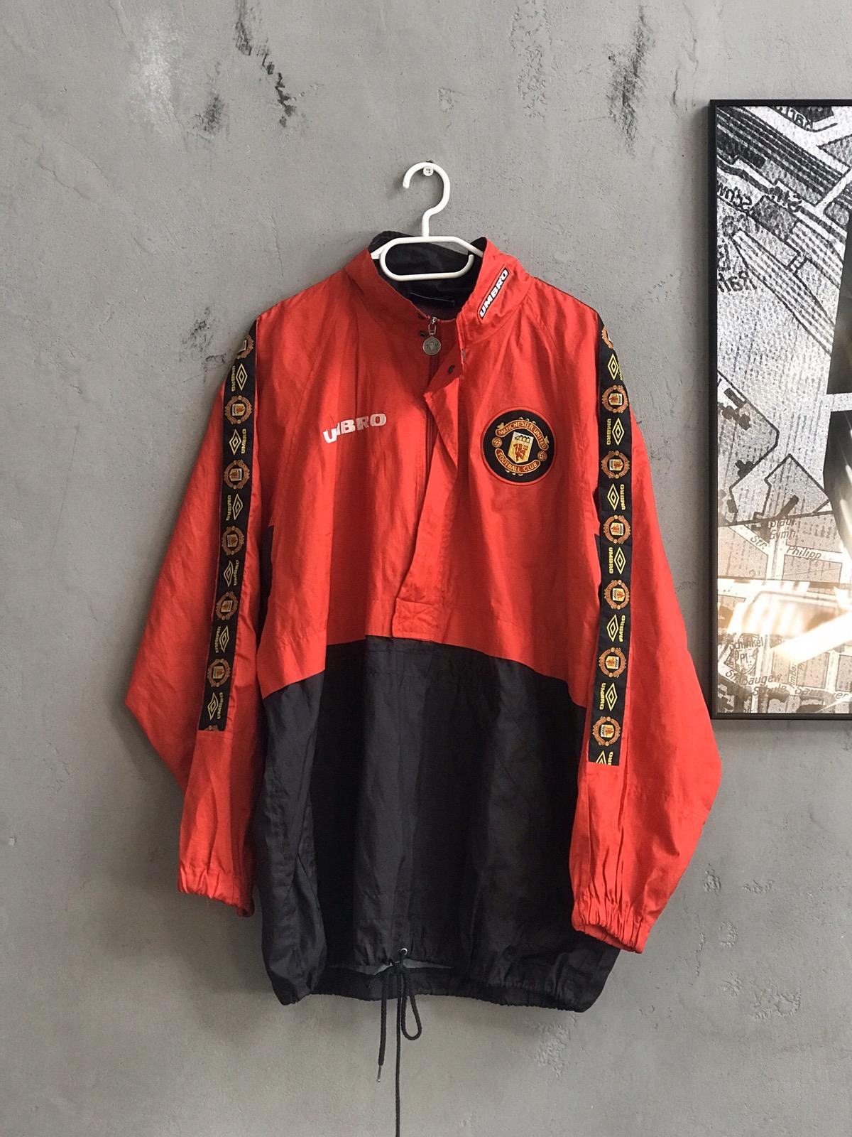 Vintage Mens Umbro Manchester United Rare Jacket M Grailed