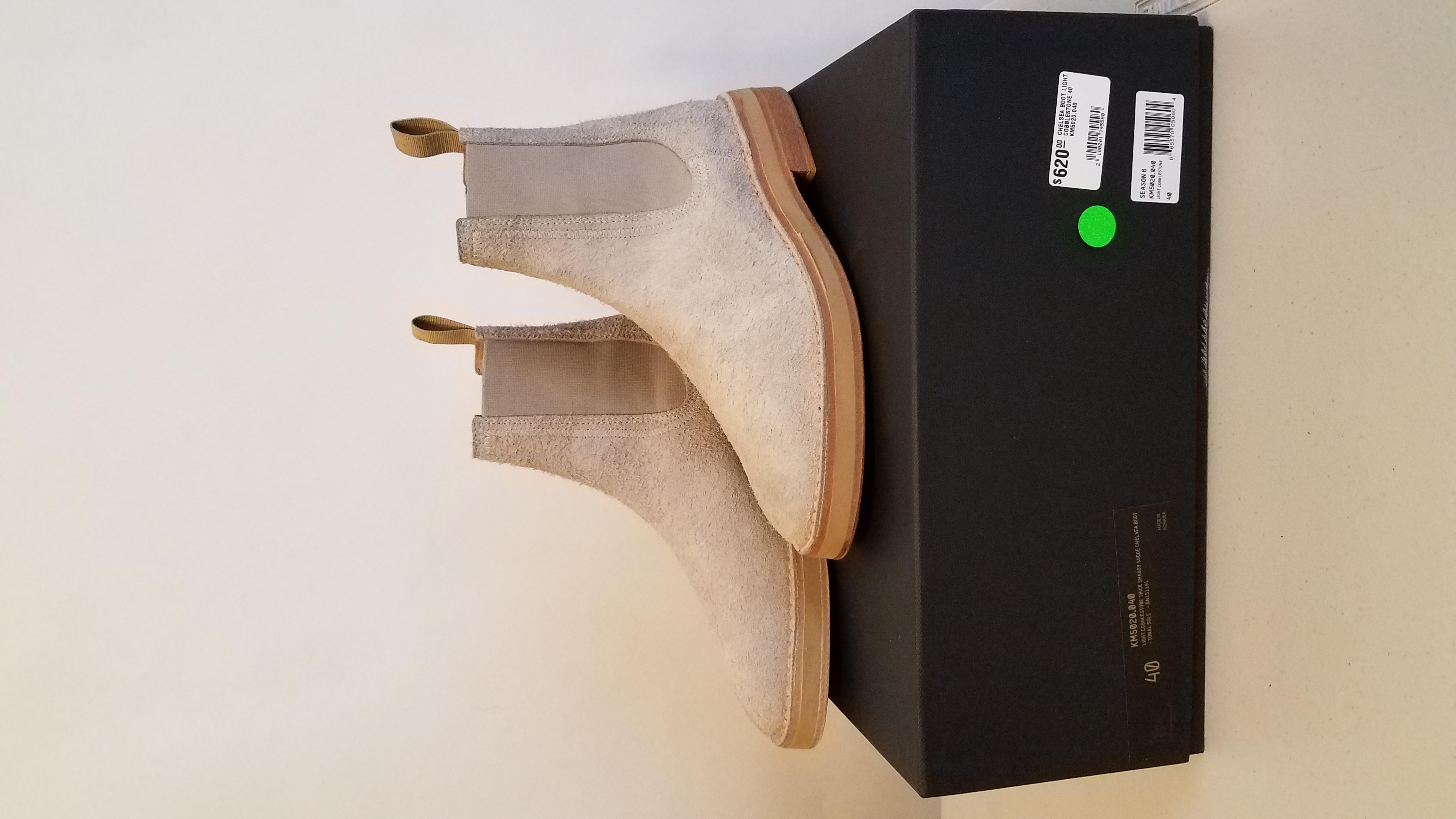 b80c4242615 Yeezy Season Chelsea Boots Cobblestone season 6 Size 7.5 - Boots for Sale -  Grailed