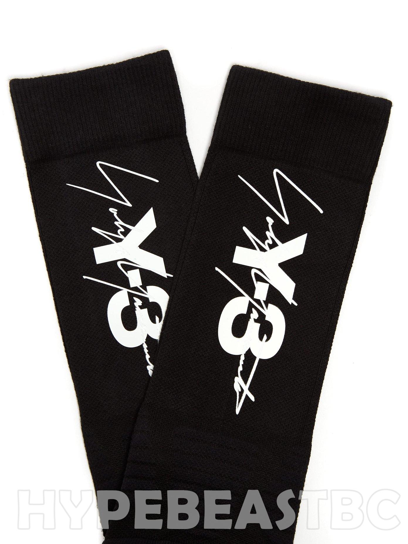 e6fbeed825a0f Adidas Y-3 Socks Tube Signature Logo Sports Tech Adidas X Yohji ...