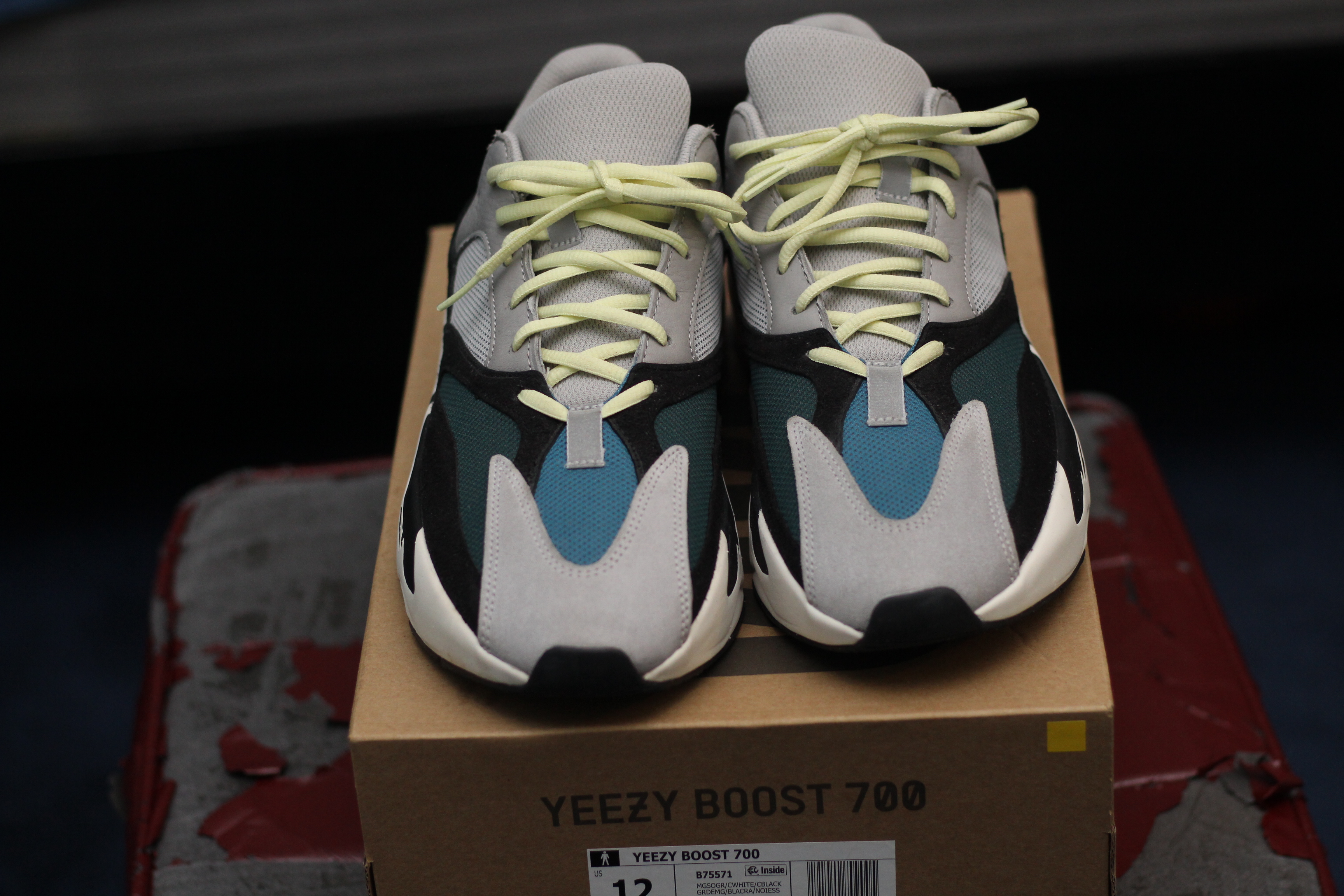 reputable site b2c41 2f430 Adidas Yeezy Wave Runner 700