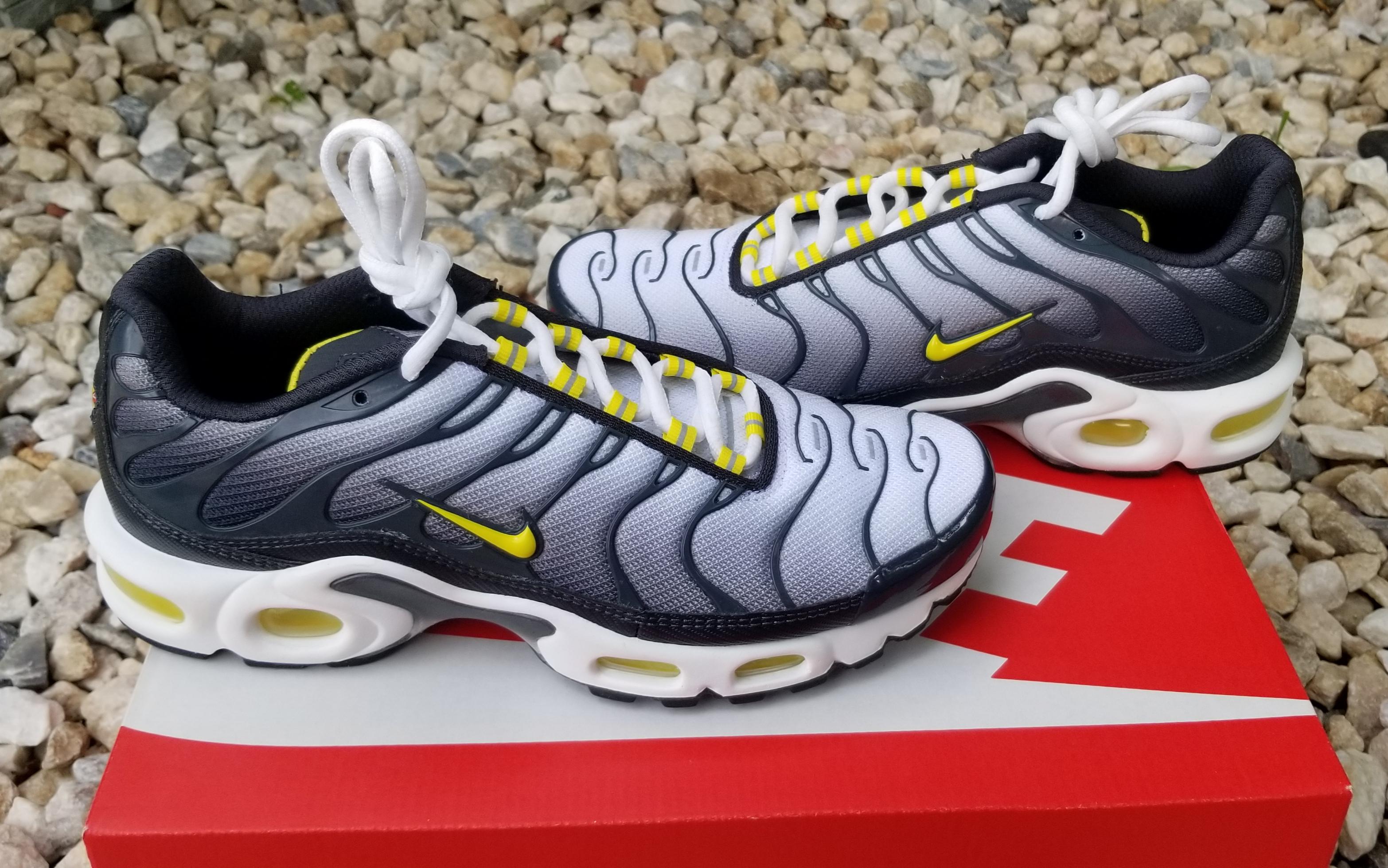 Nike Air Max Plus TN Tuned Bumble Bee Yellow Black Silver