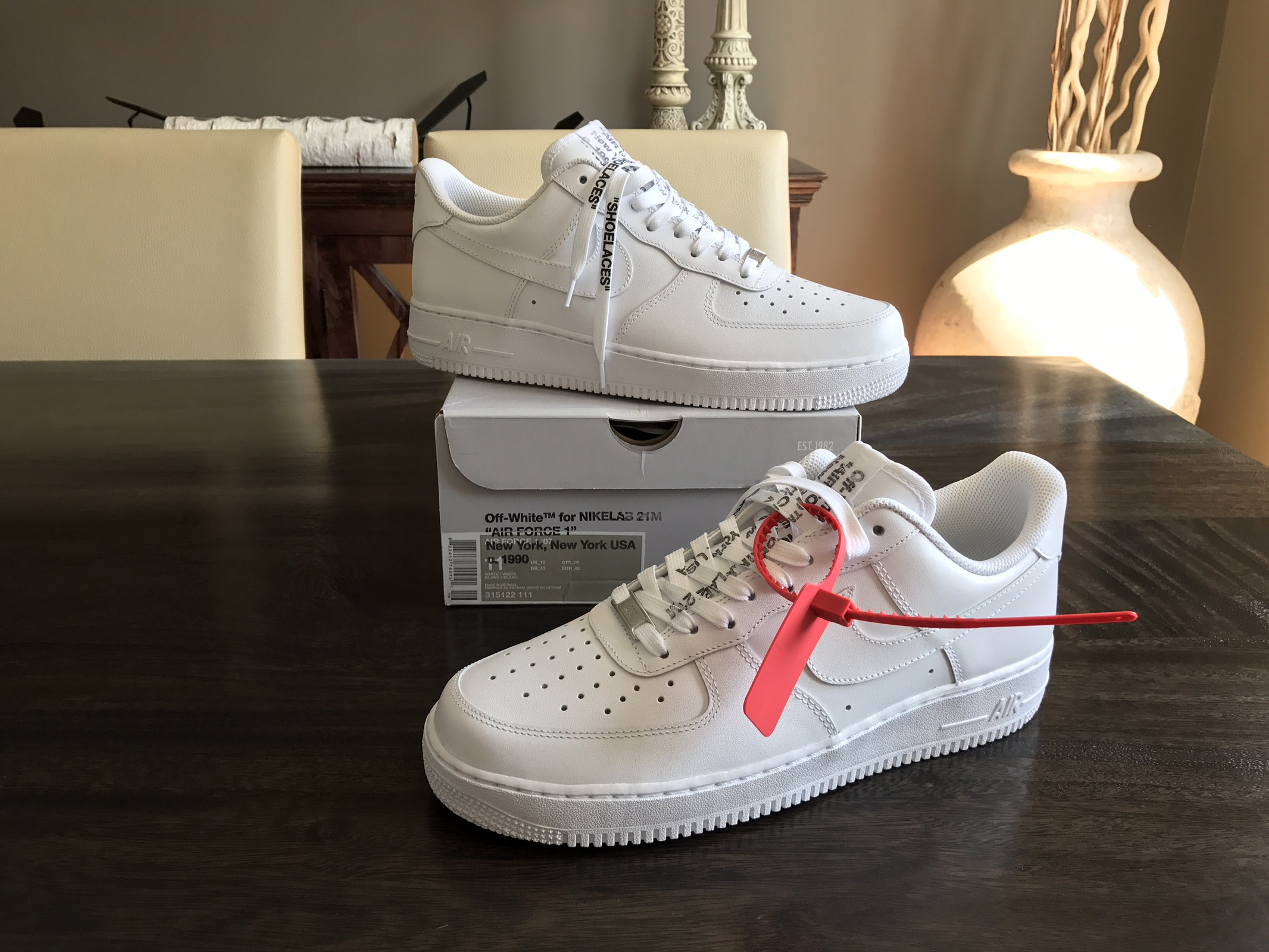 Nike Nike Air Force 1 Off White X Nikelab 21m Extra Credit Af1