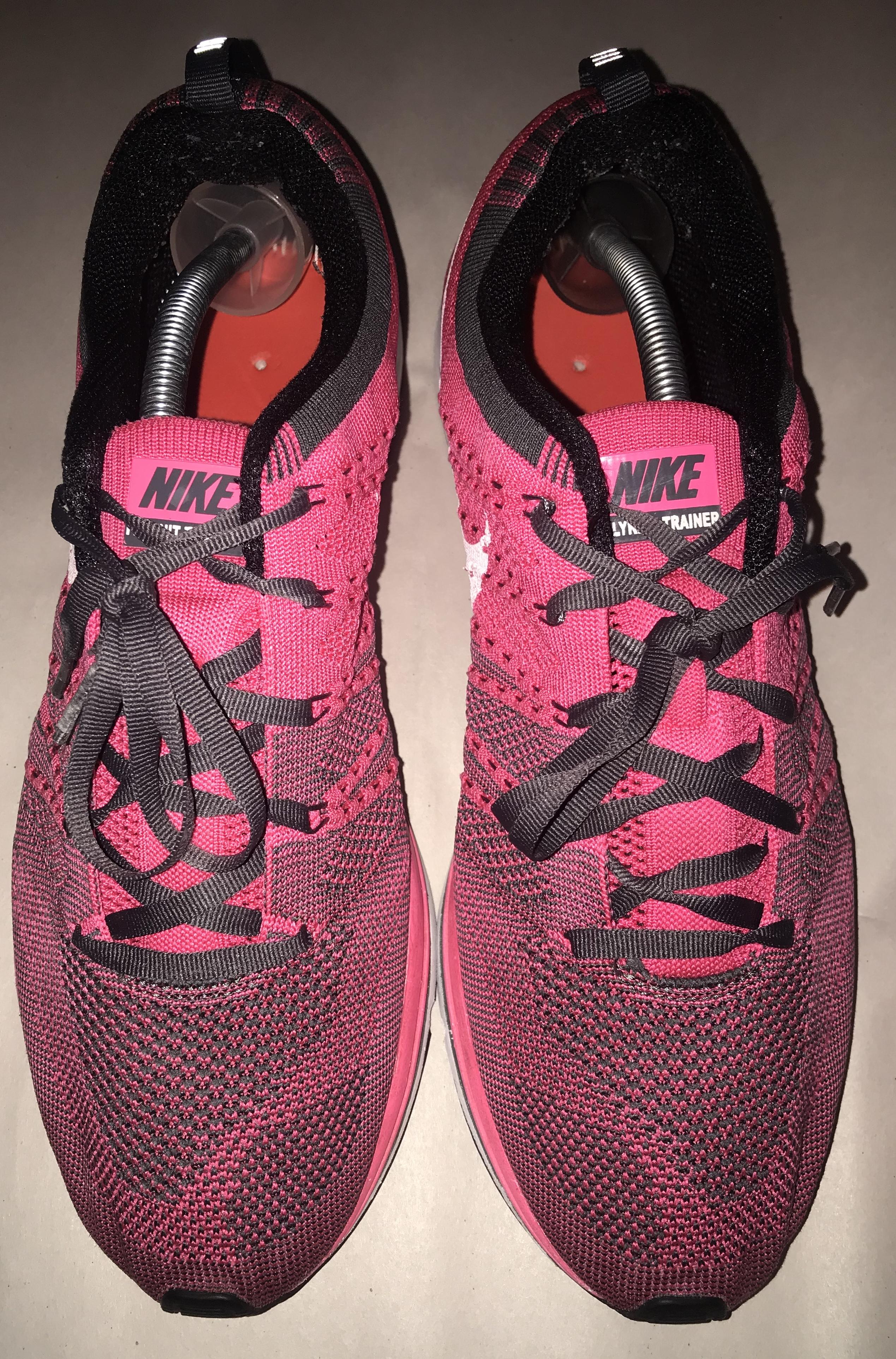 best service 05441 d2997 Nike ×. Nike Flyknit Trainer Pink 532984 611 Men s ...
