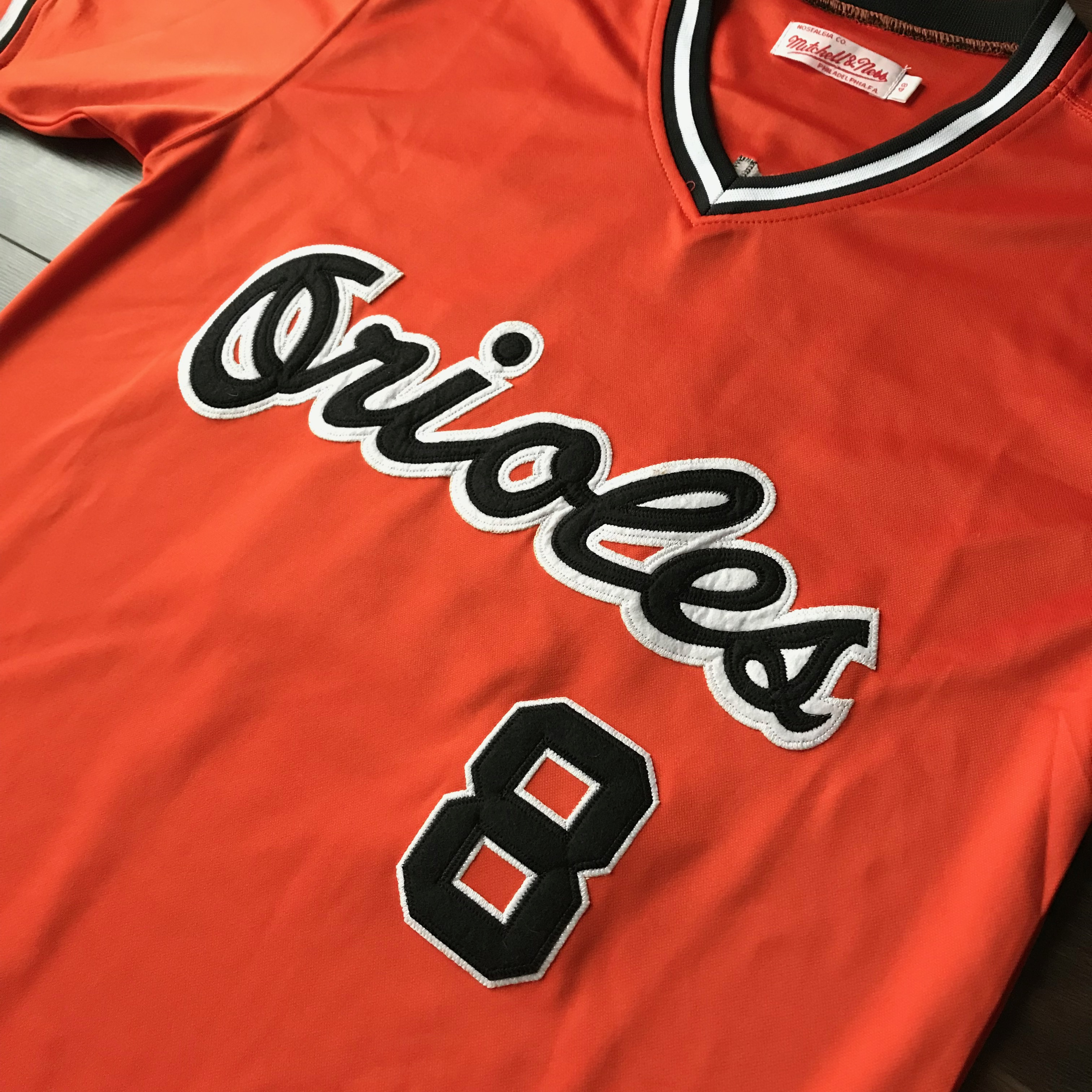 new product 9597f 38f07 Vintage Mitchell & Ness Baltimore Orioles Cal Ripken Jersey