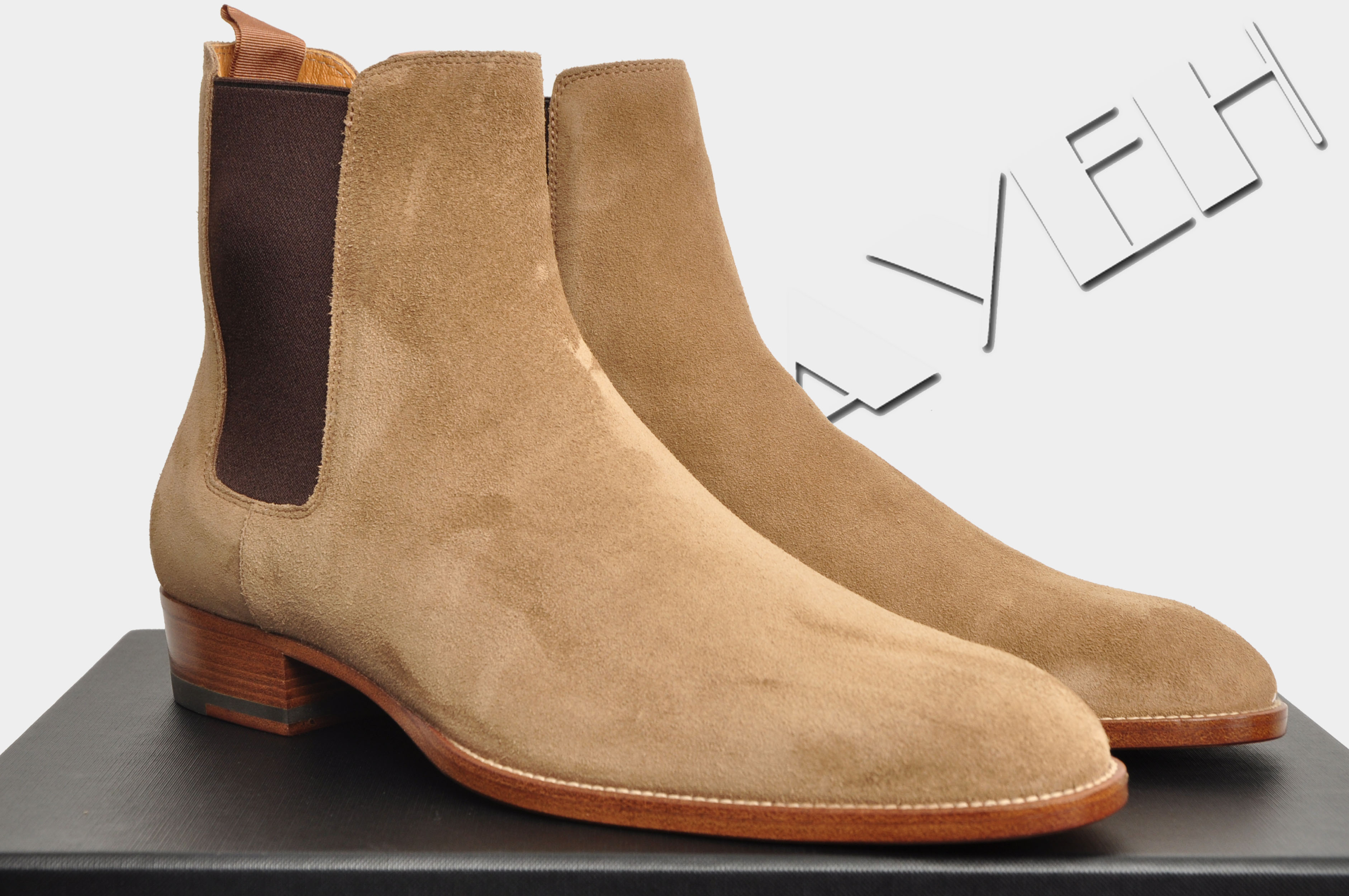 6572612d05b7 Saint Laurent Paris 895  CLASSIC WYATT 30 CHELSEA BOOT IN NEW TOBACCO SUEDE  Size 6 - Boots for Sale - Grailed