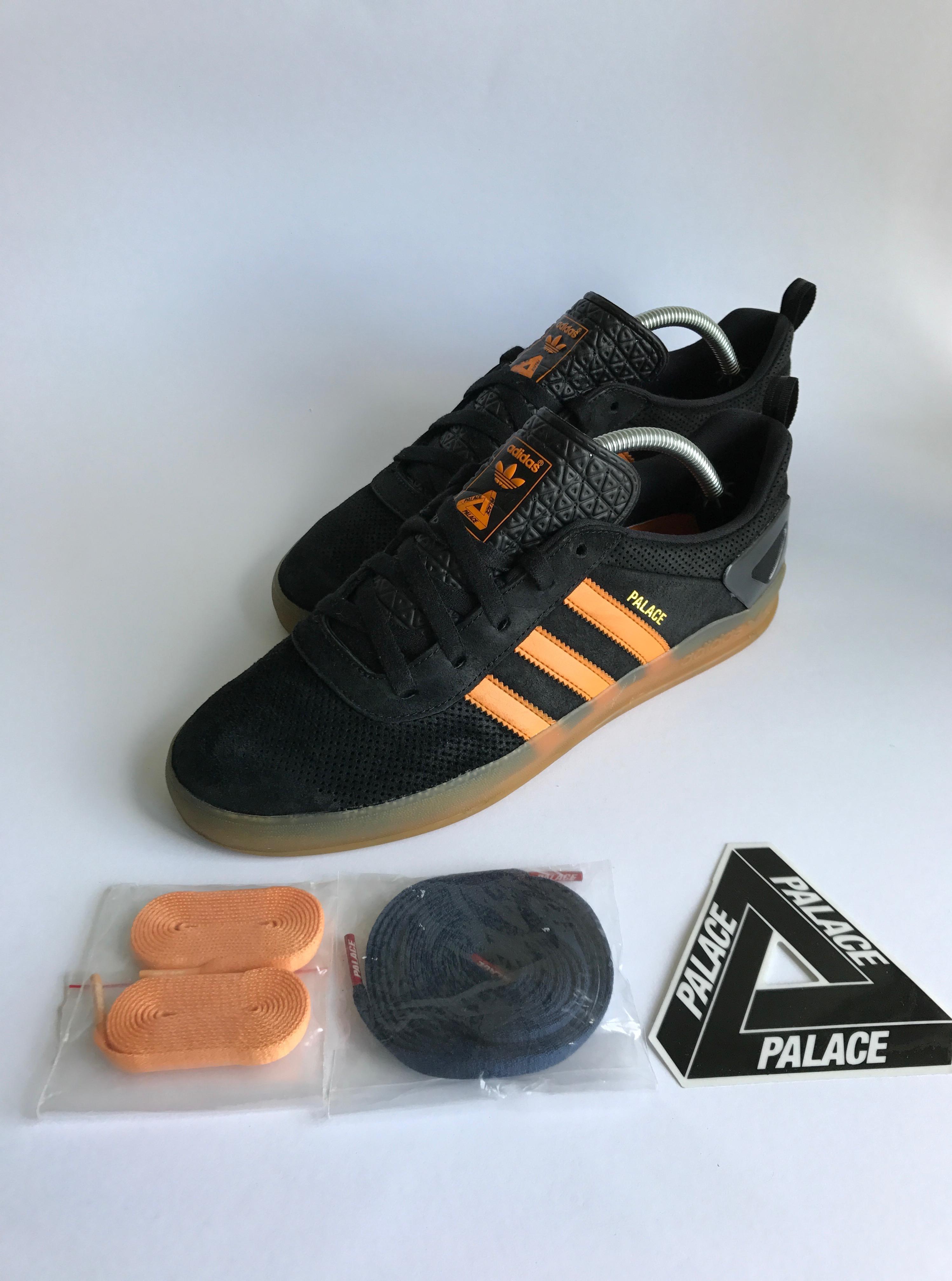 231c5425d7b Adidas Adidas x Palace Pro (Black Orange) Size 8.5 - Low-Top ...