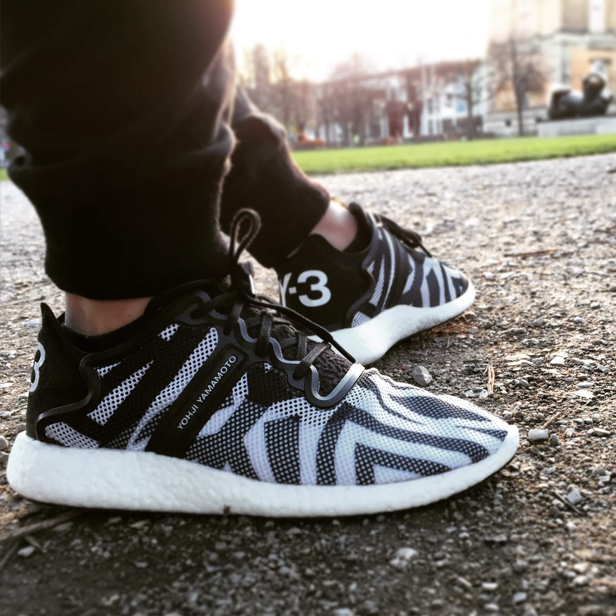 b72cb280cef78 Adidas Y-3 Yohji Boost Zebra