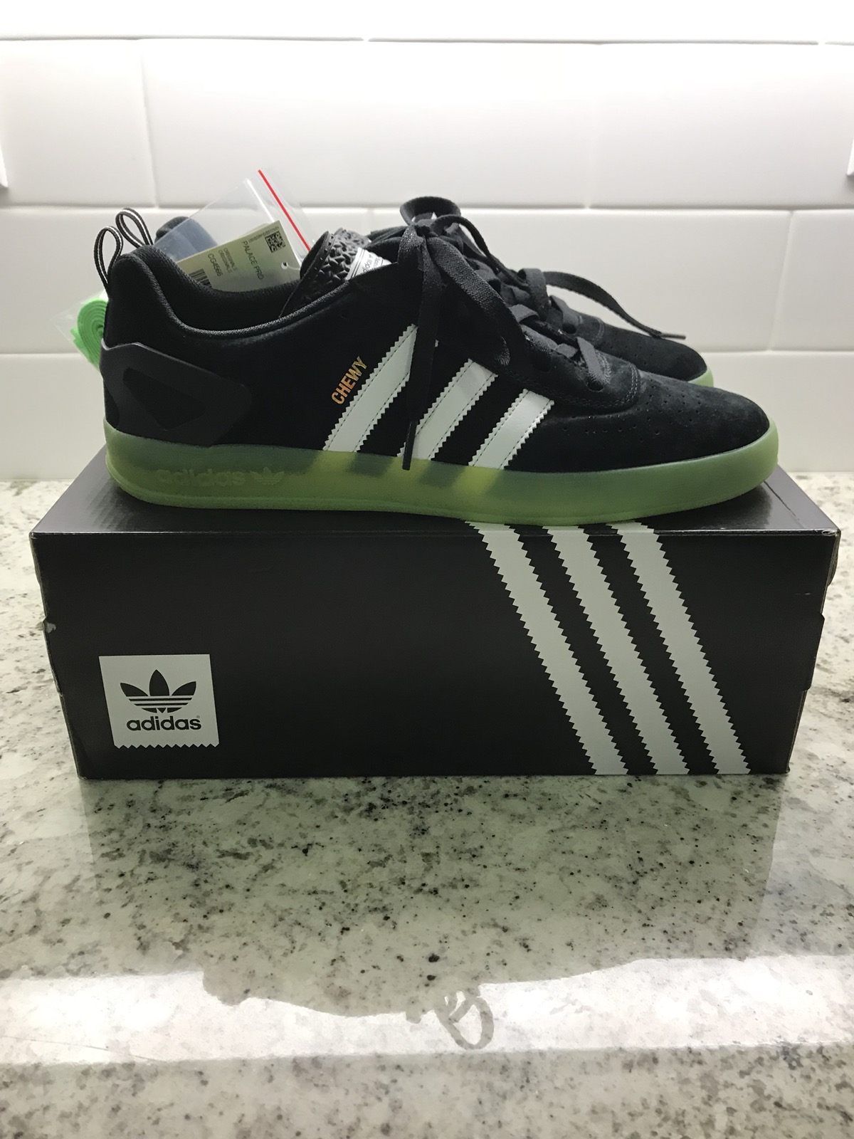 size 40 feac7 bfa7e Adidas Palace Pro - Chewy Cannon (BlackSolar Green) Size 10.5 - Low-Top  Sneakers for Sale - Grailed