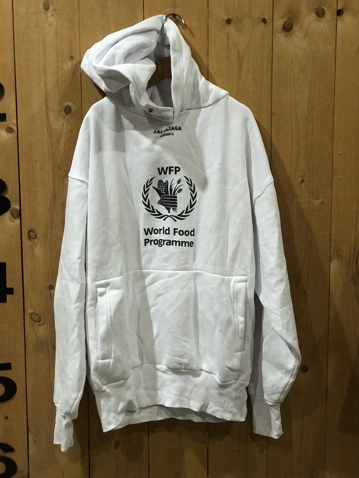 Balenciaga World Food Programme Hoodie Grailed