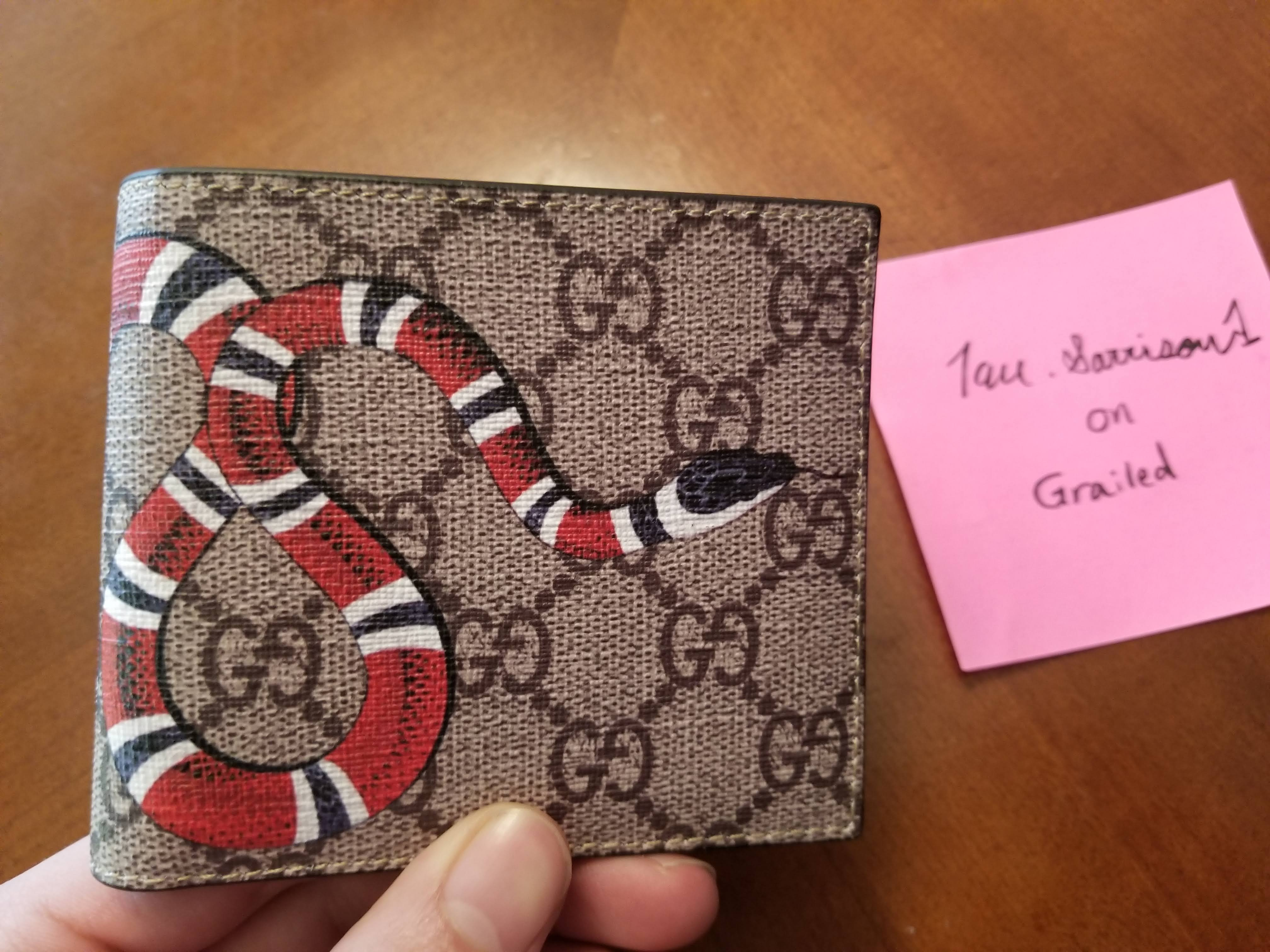 a6ce3bef93ce Gucci Gucci Kingsnake Wallet (deadstock) (final Price Drop) | Grailed