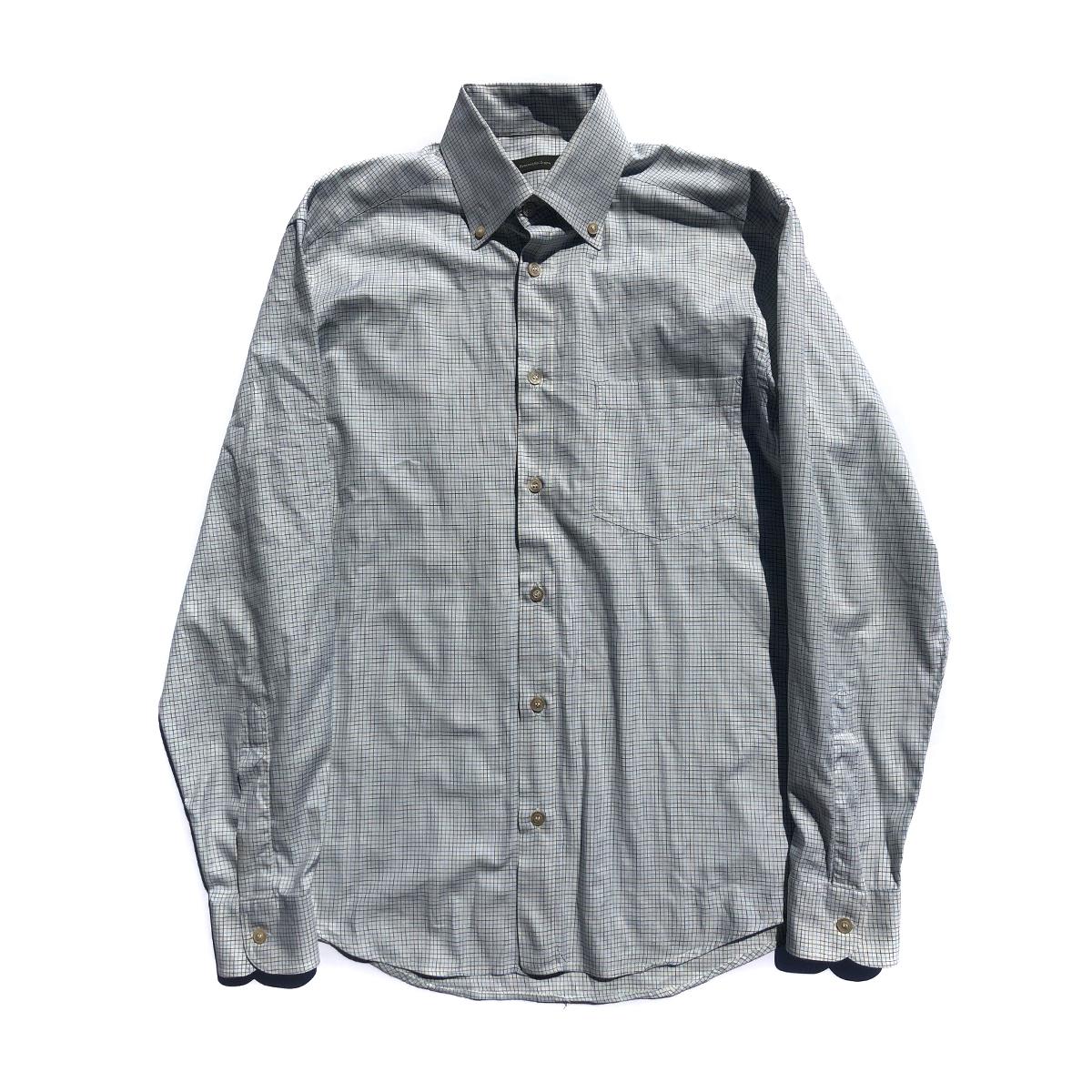 Ermenegildo Zegna Ermenegildo Zegna Mens 100 Cotton White Button