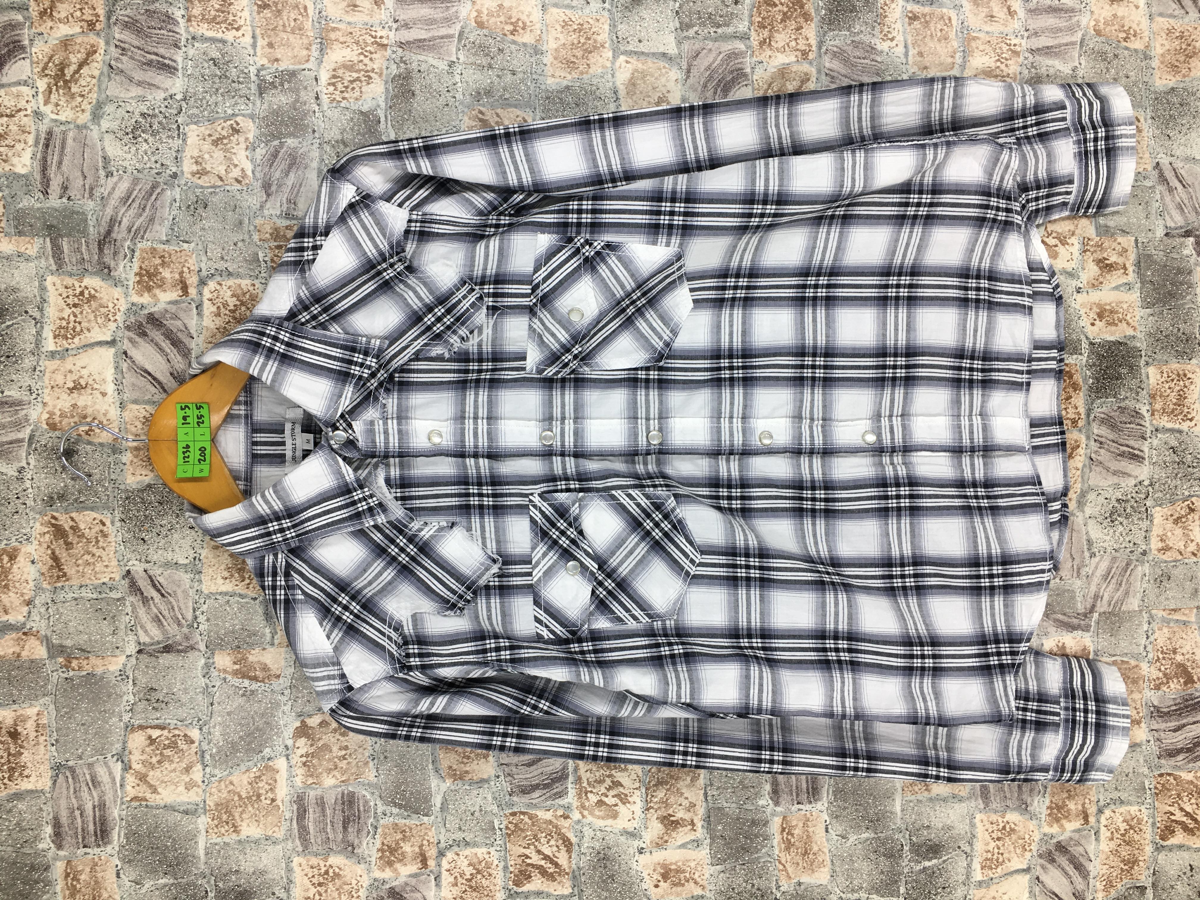81873f339 Vintage Vintage Checkered Boyfriend Shirt Women Medium Plaid Shadow  Checkered White/black Hipster Minimalist Grunge Flannel Button Up Shirt  Size M | Grailed