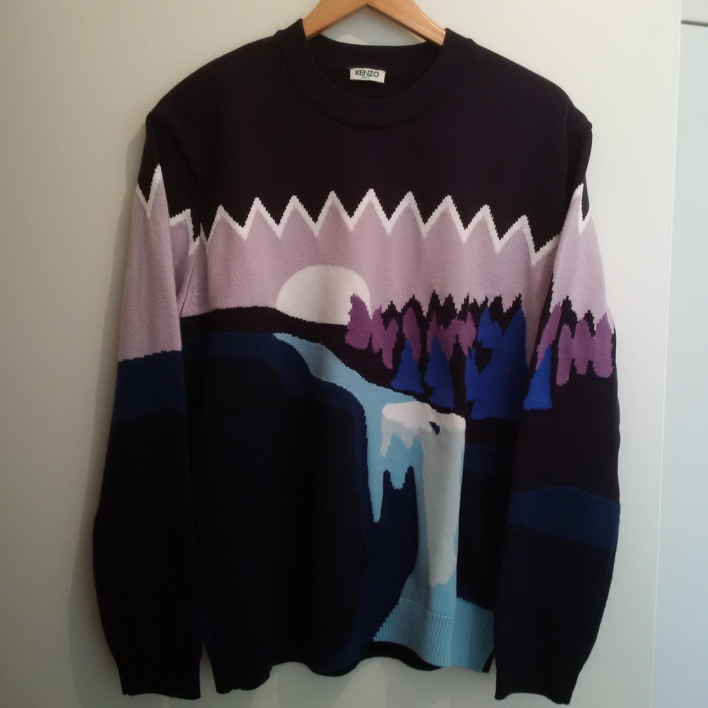 be0bbf7ac Kenzo Landscape Sweater | Grailed