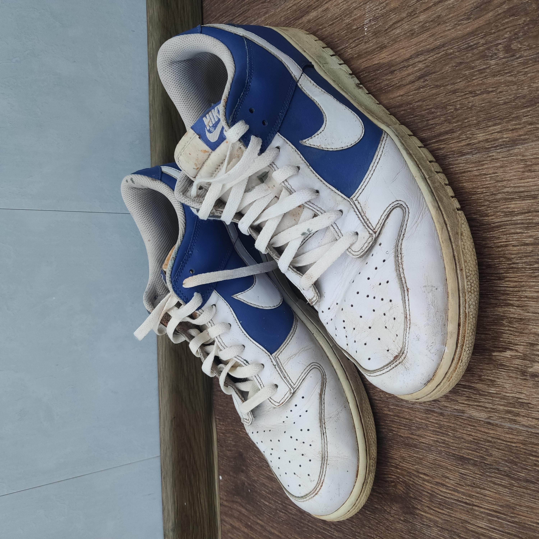 freír Dispersión estanque  Nike 2010 Nike Dunk Low Varsity Royal White Blue Sneakers   Grailed