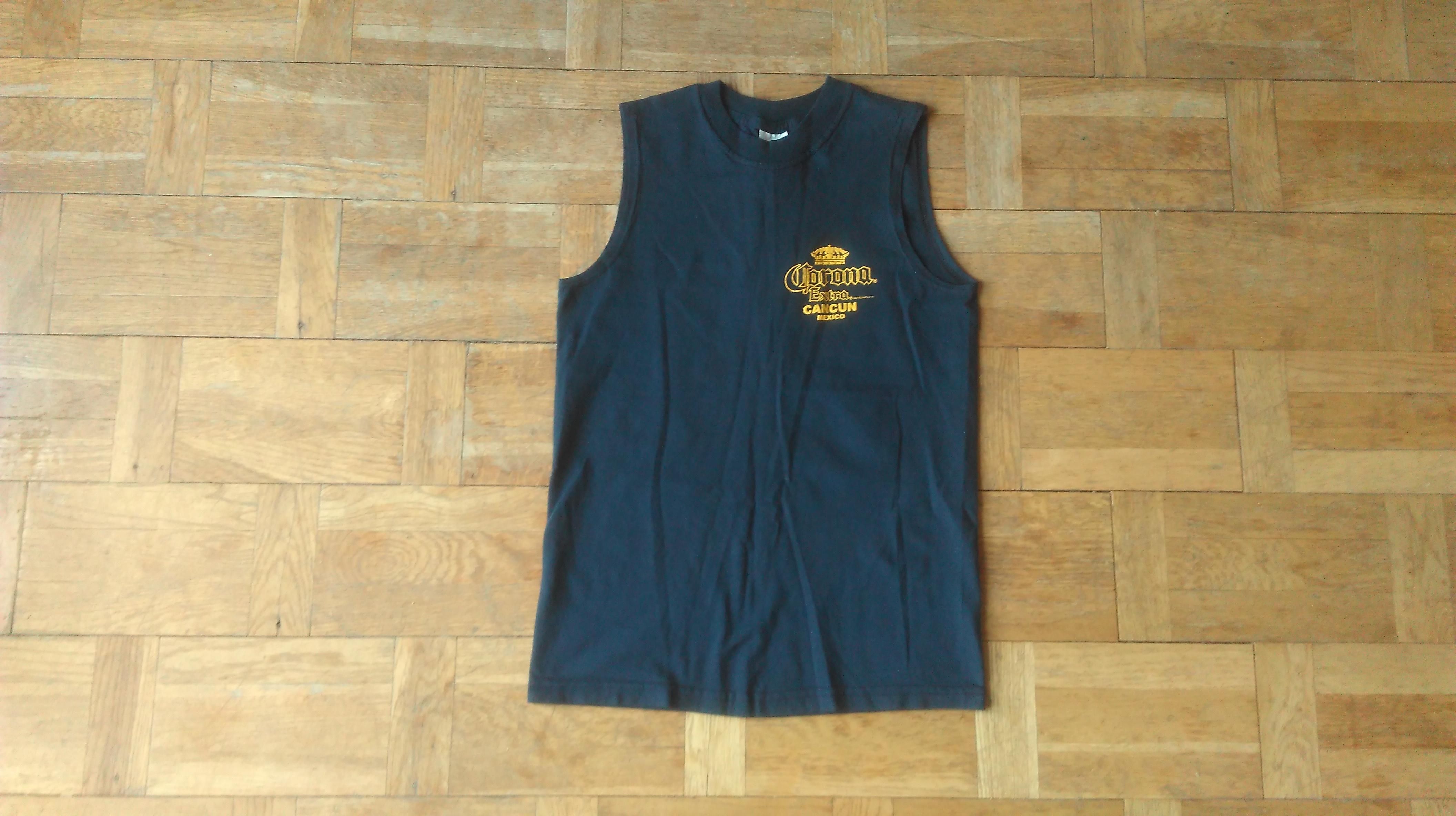 a223850e2bcd26 Corona Corona Extra T-Shirt Size Small Cancun Mexico Cerveza Tank ...