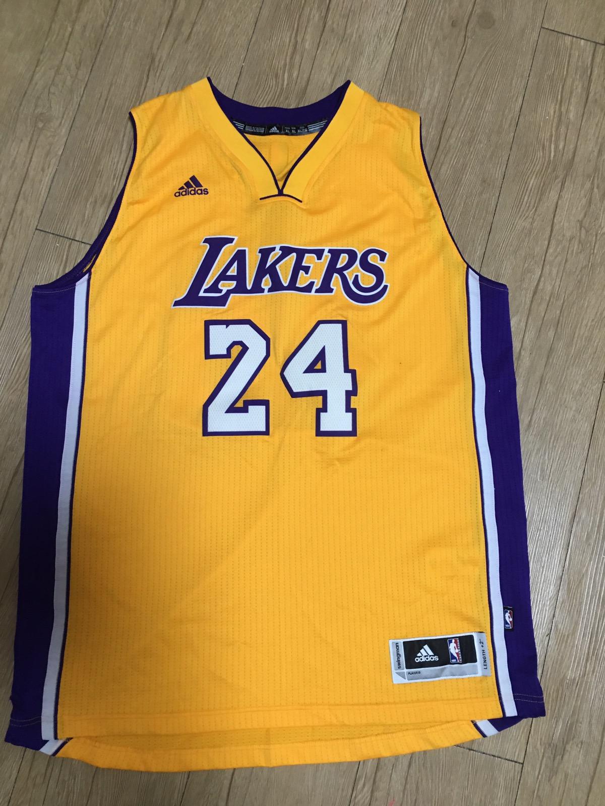 Adidas Vintage La Lakers Kobe Bryant Legend Jersey