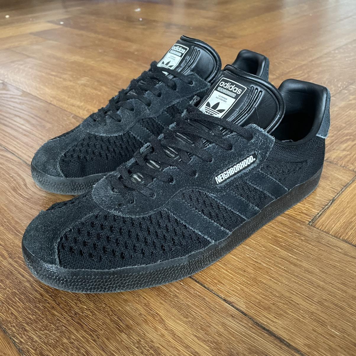 Adidas Neighborhood x Adidas Gazelle Super Triple Black 2018 10 US