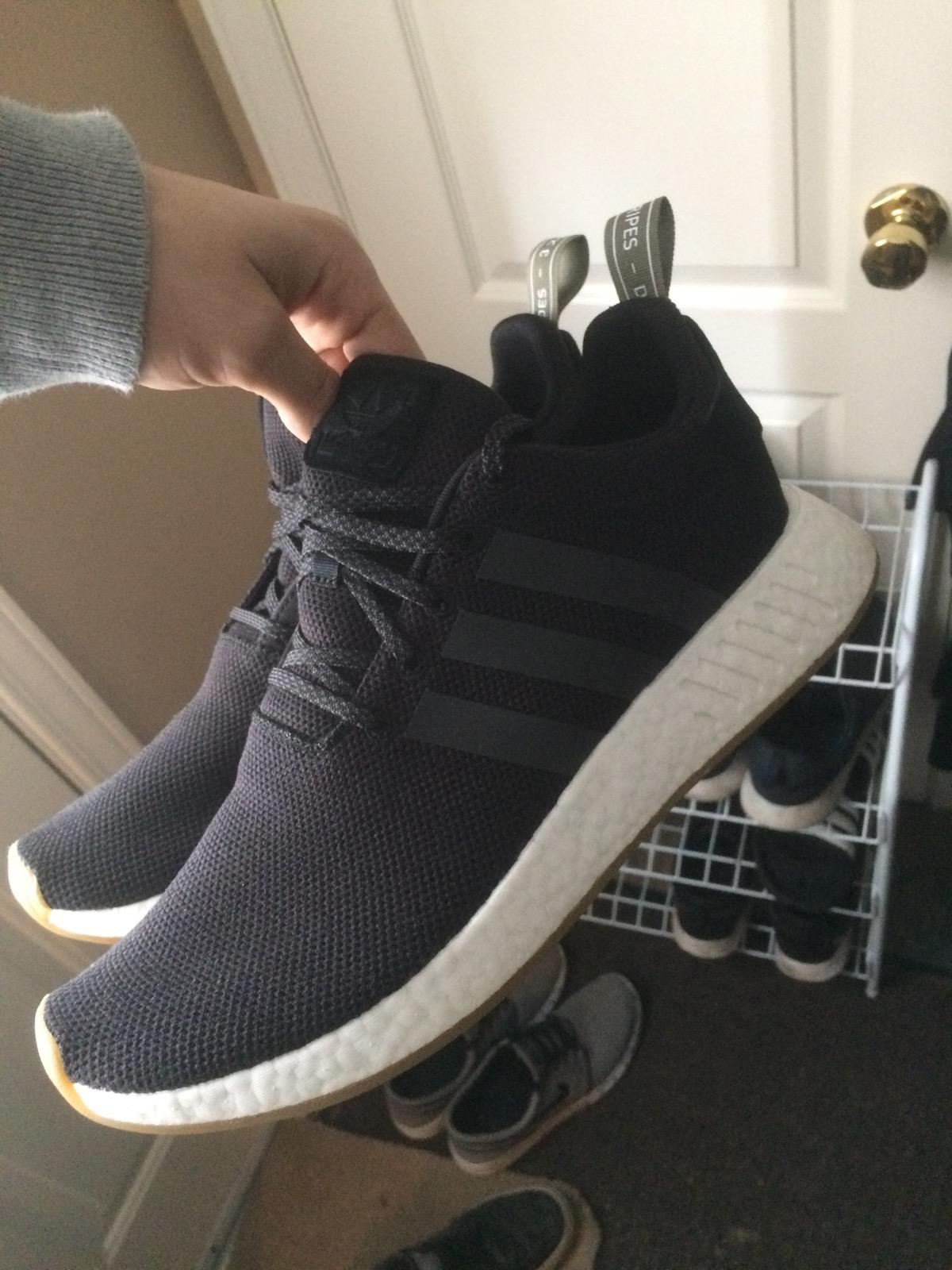 Adidas Nmd R2 Black/gum